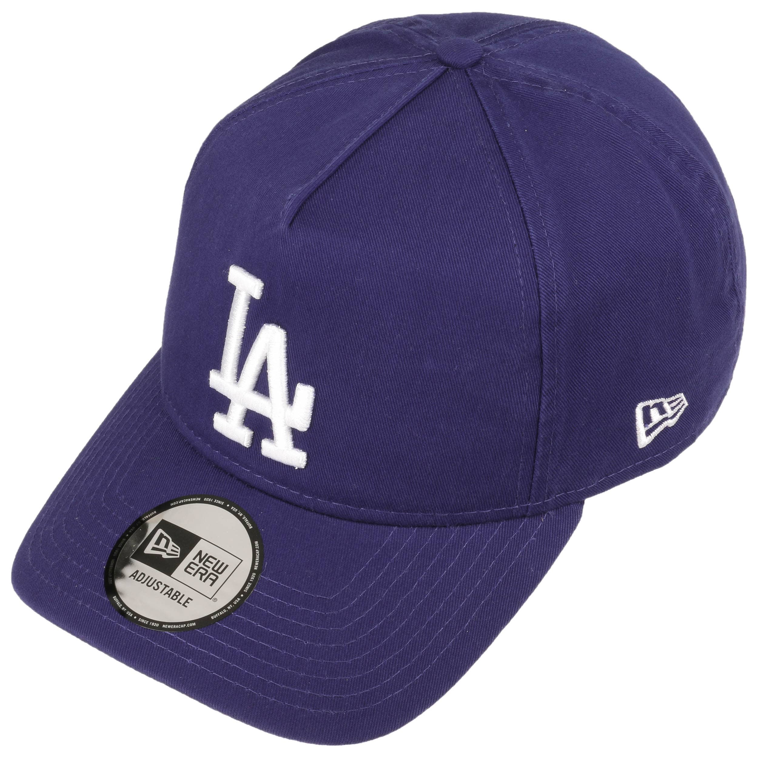 9Forty A-Frame Dodgers Cap by New Era - royal-blue 1 ... 13f8bbcd3b7