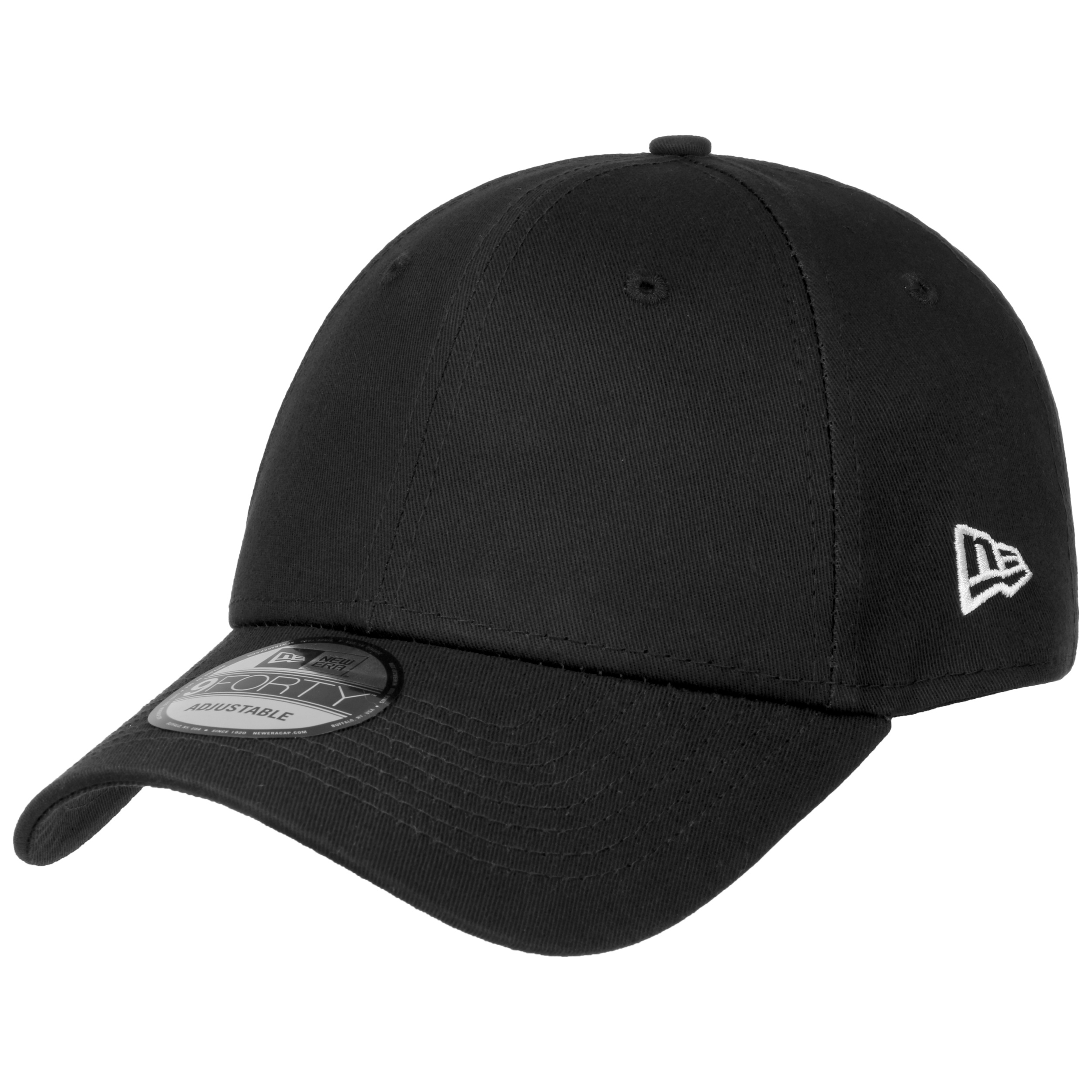 6d73eac40254 ... 9Forty Basic Strapback Cap by New Era - schwarz 6 ...