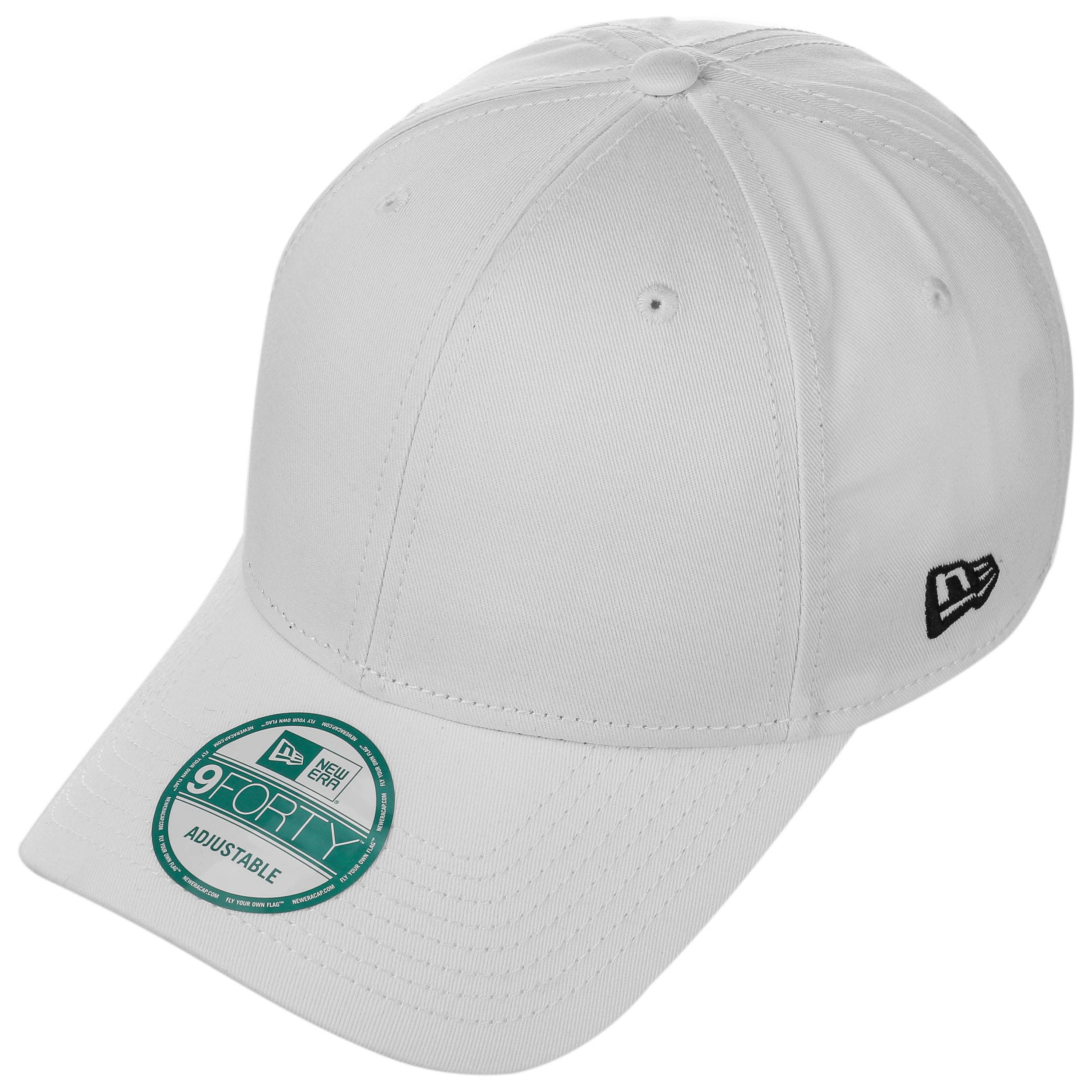 dcddbe4c6211 ... 9Forty Basic Strapback Cap by New Era - white 1 ...