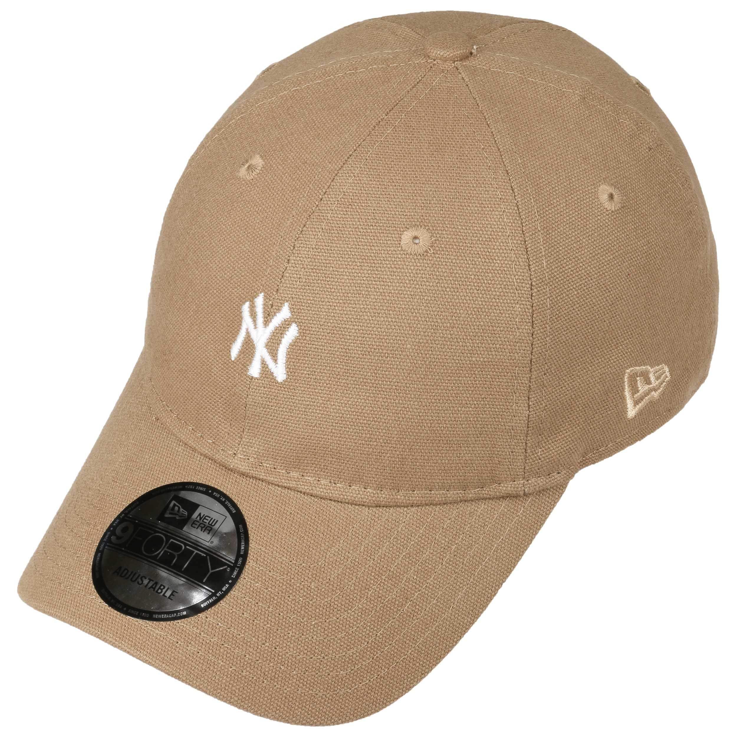 e229ca4c2e0 9Forty Canvas Yankees Cap by New Era - beige 1 ...