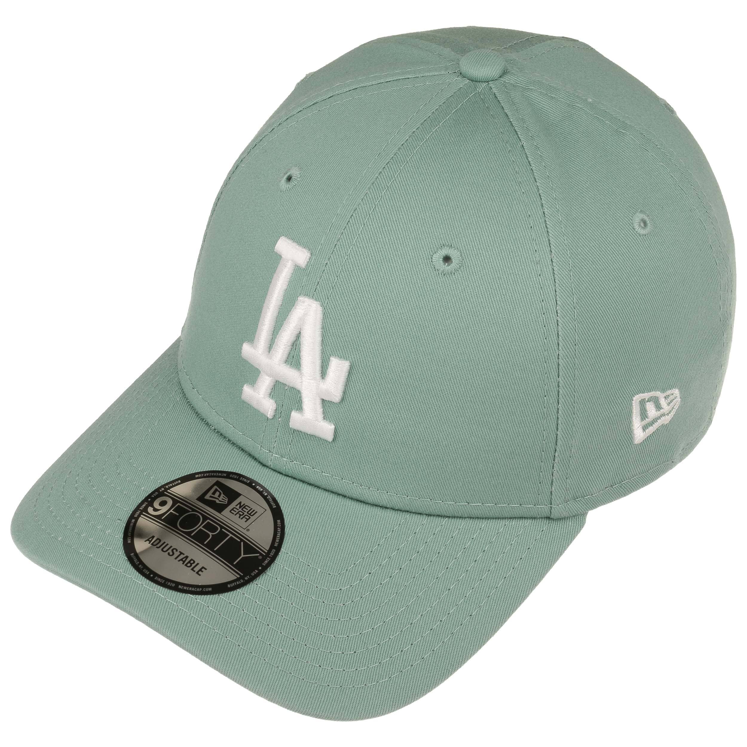 uk availability 224ac 4fa7d ... 9Forty Classic LA Dodgers Cap by New Era - mint green 2 ...