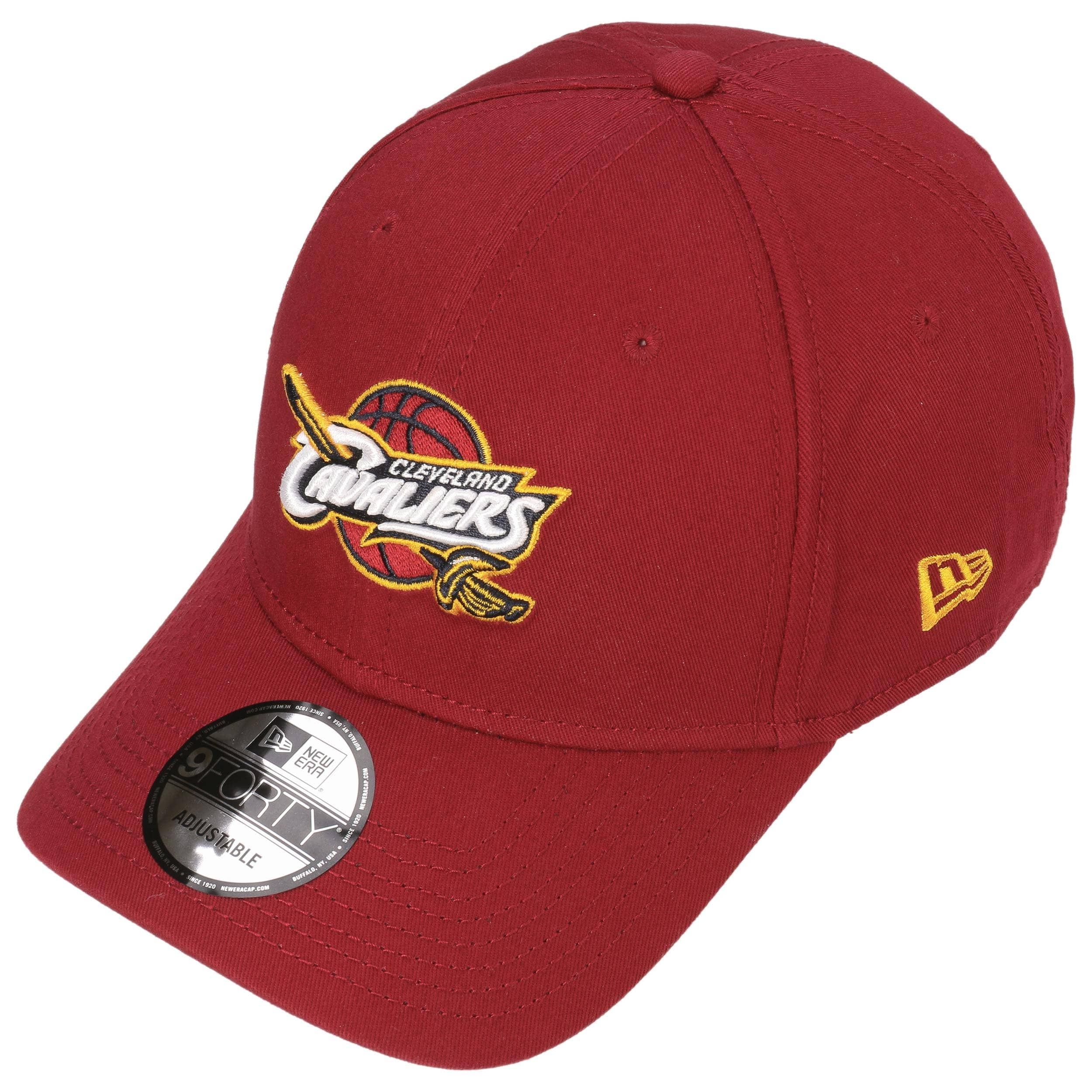 8df378dae38 9Forty Cleveland Cavs Cap by New Era - red 1 ...