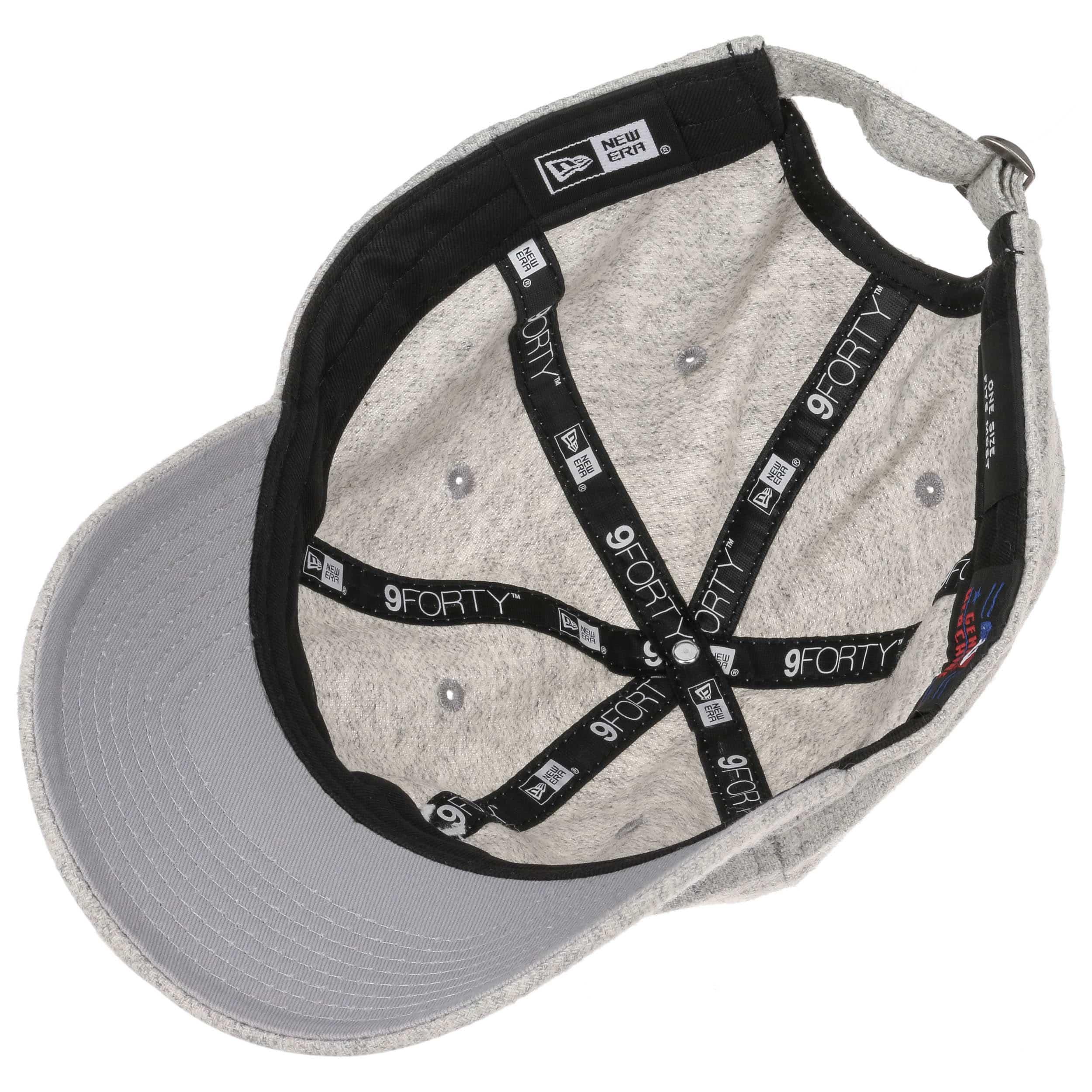 ... 9Forty Herringbone Yankees Cap by New Era - grey 2 ... c0aea73b1f8