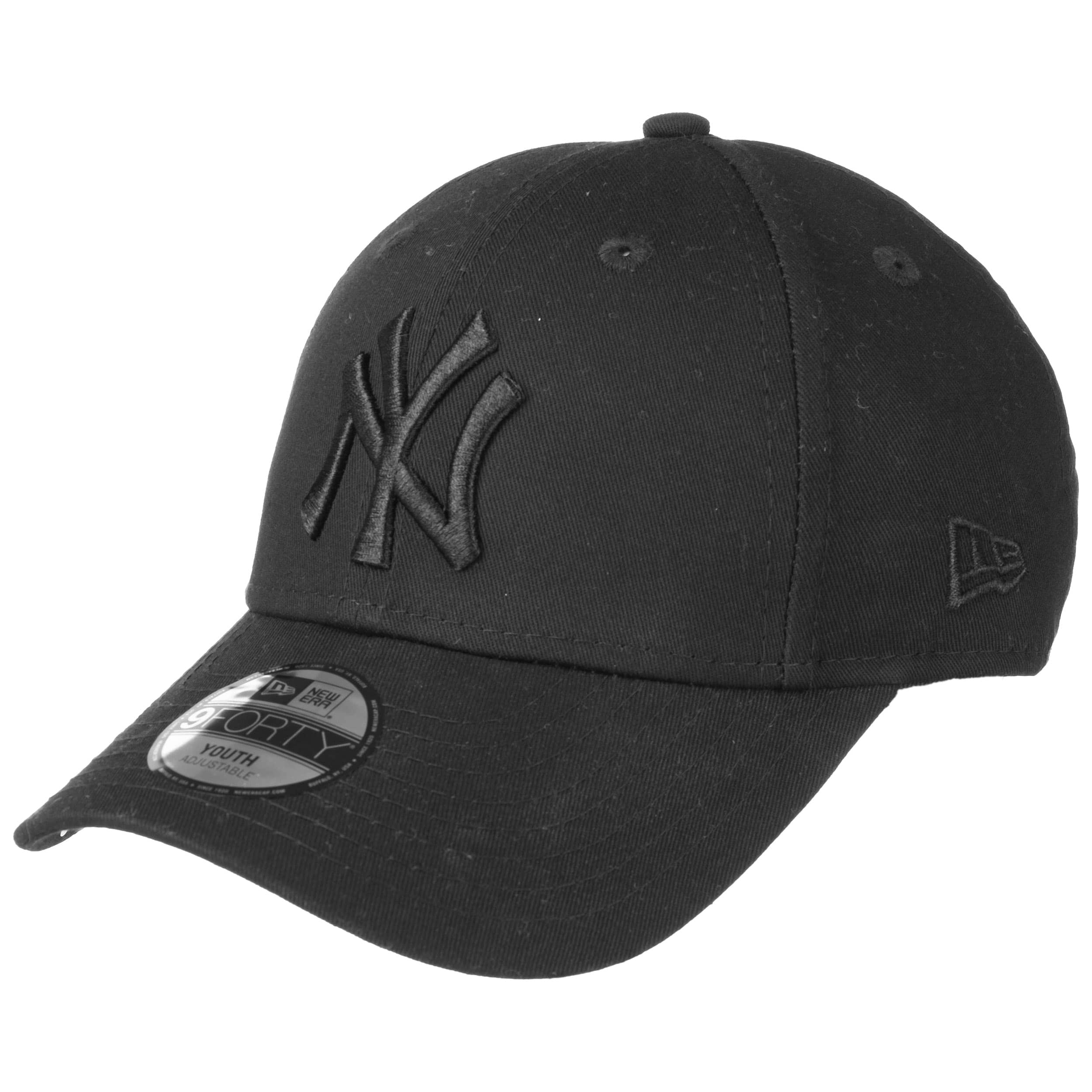 f6f8f10f077 ... 9Forty JUNIOR NY Yankees Cap by New Era - black 6 ...