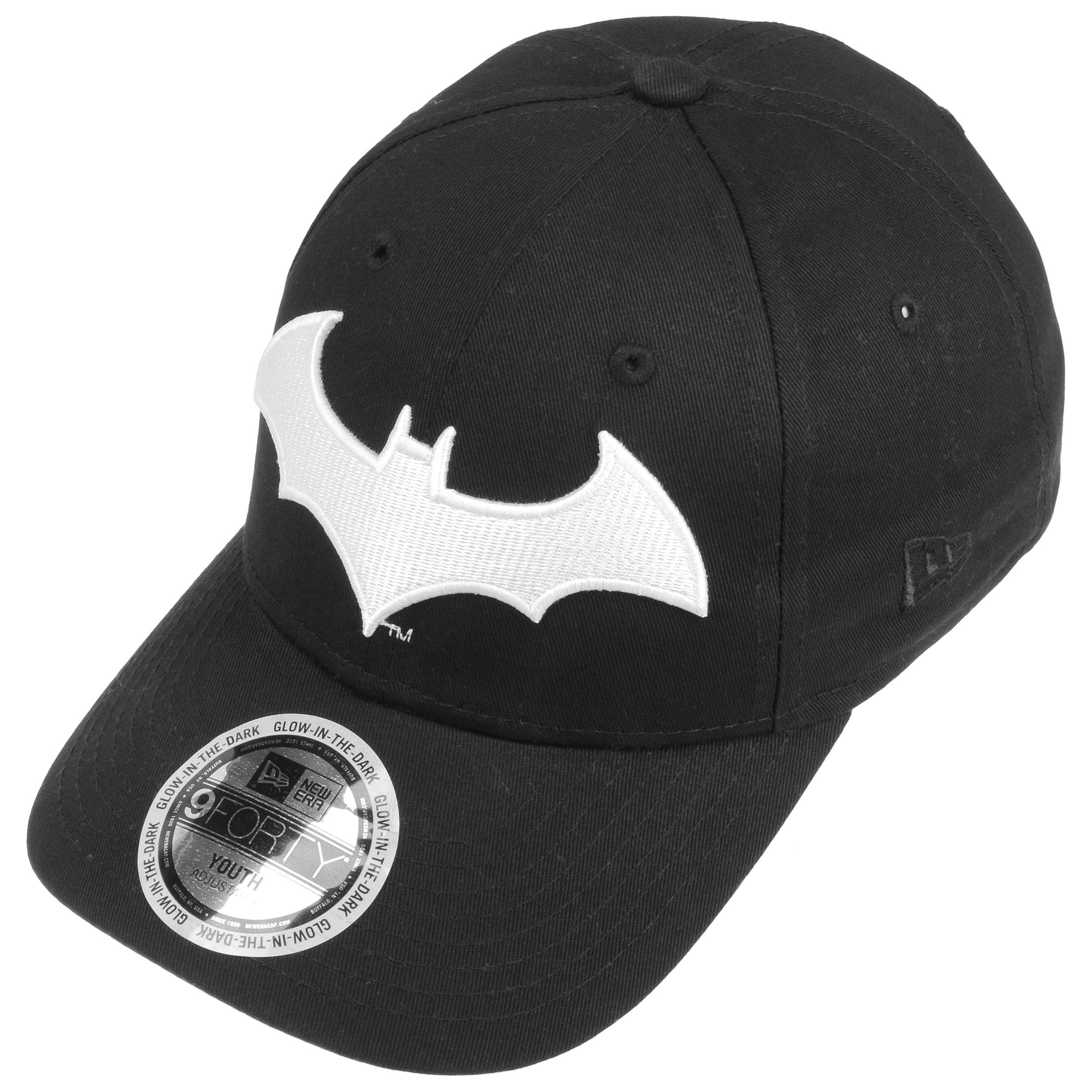 dc7e79a6766 9Forty Junior GITD Batman Cap by New Era - black 1 ...