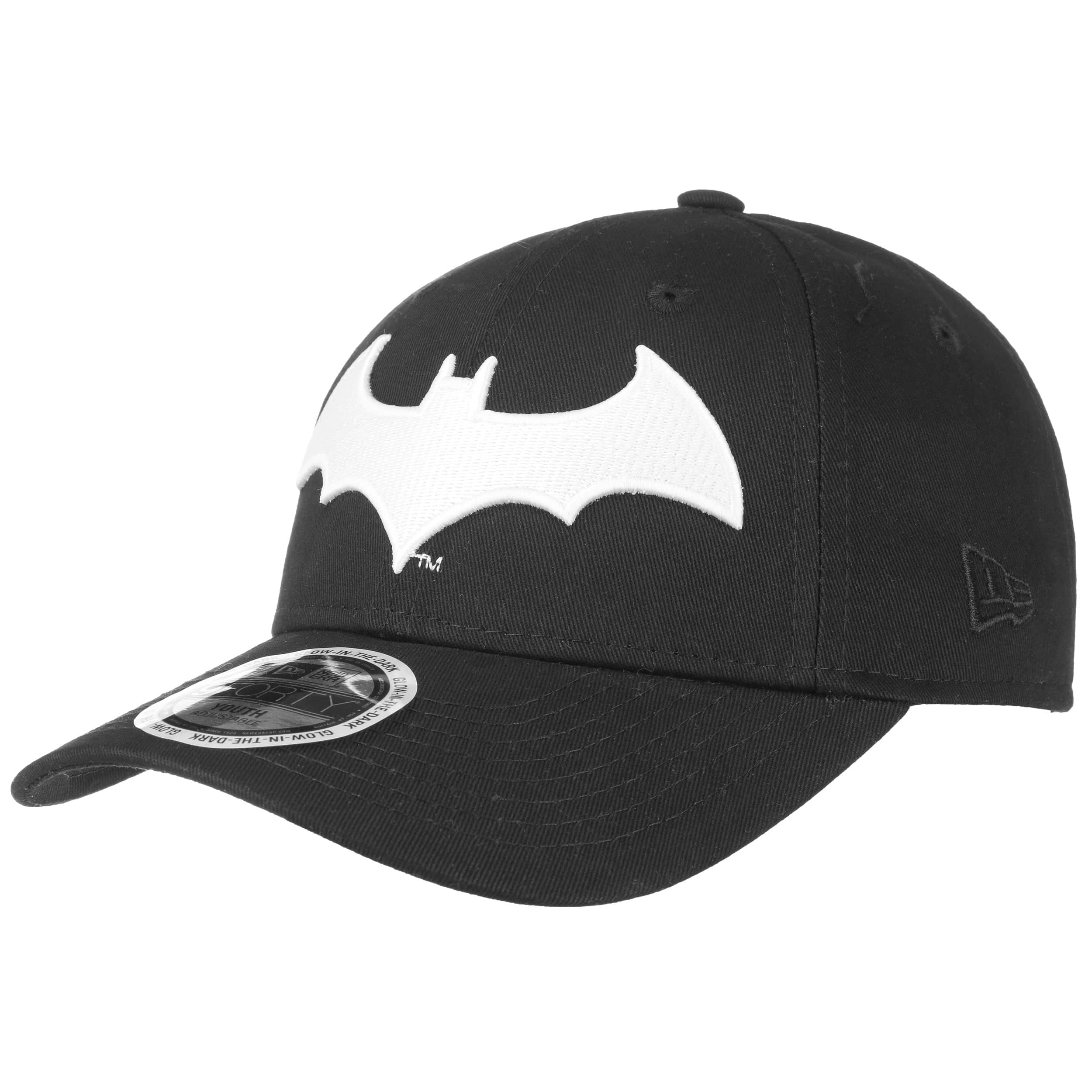 2ac2b24c75c ... 9Forty Junior GITD Batman Cap by New Era - black 6