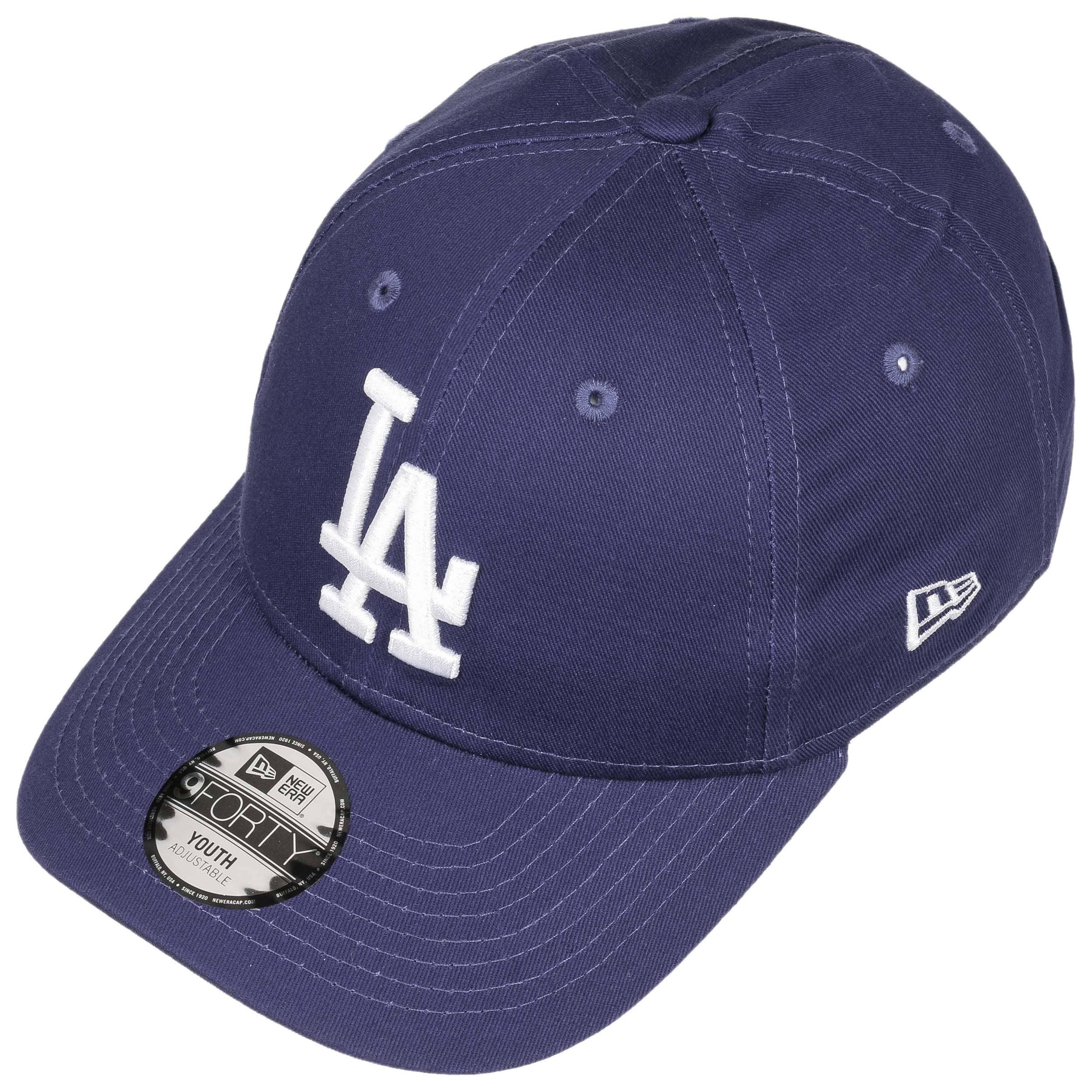 9Forty Junior LA Dodgers Cap by New Era - blue 1 ... 8c22df5ae6e4
