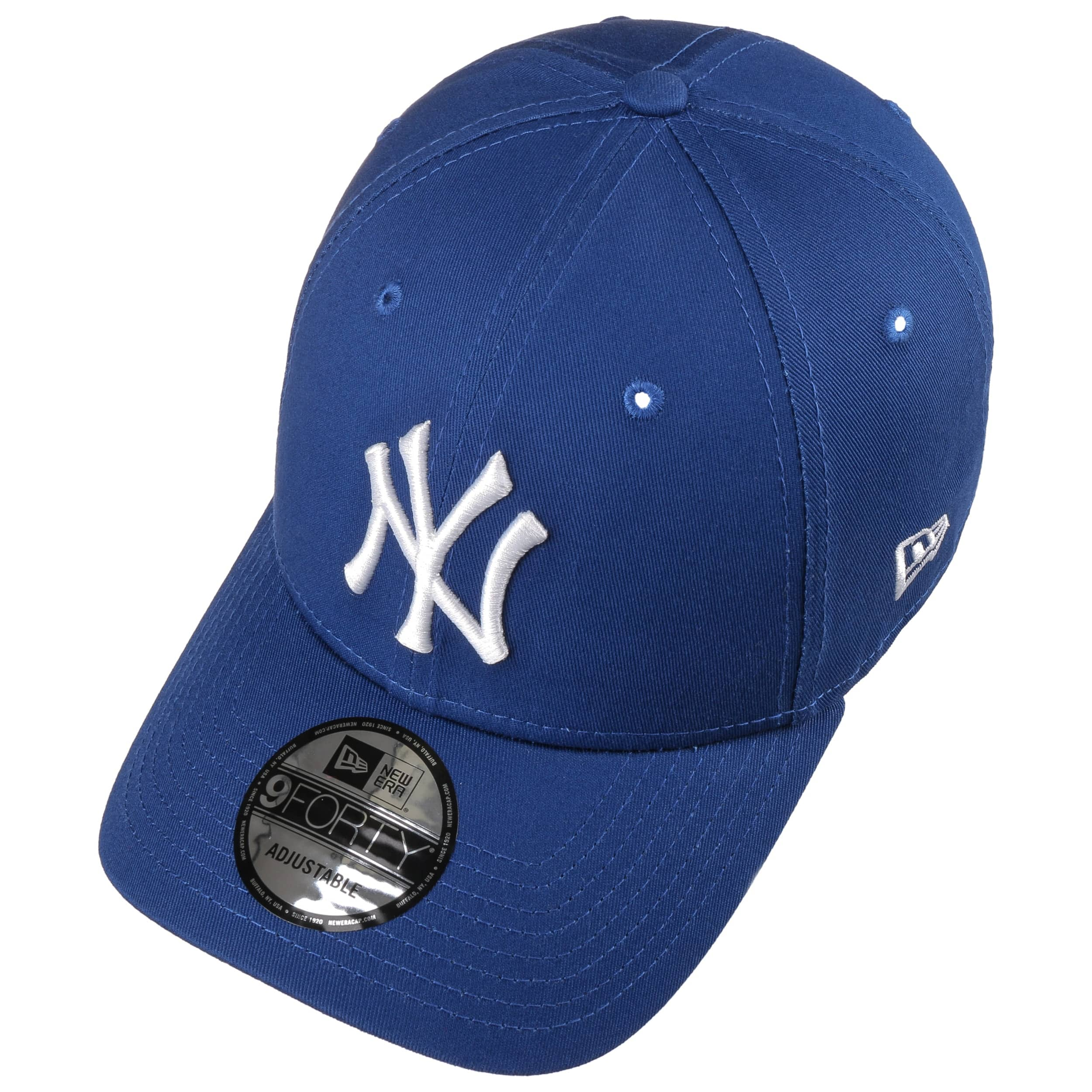 14c29f9bb46 ... 9Forty League Basic Yankees Cap by New Era - royal-blue 1 ...