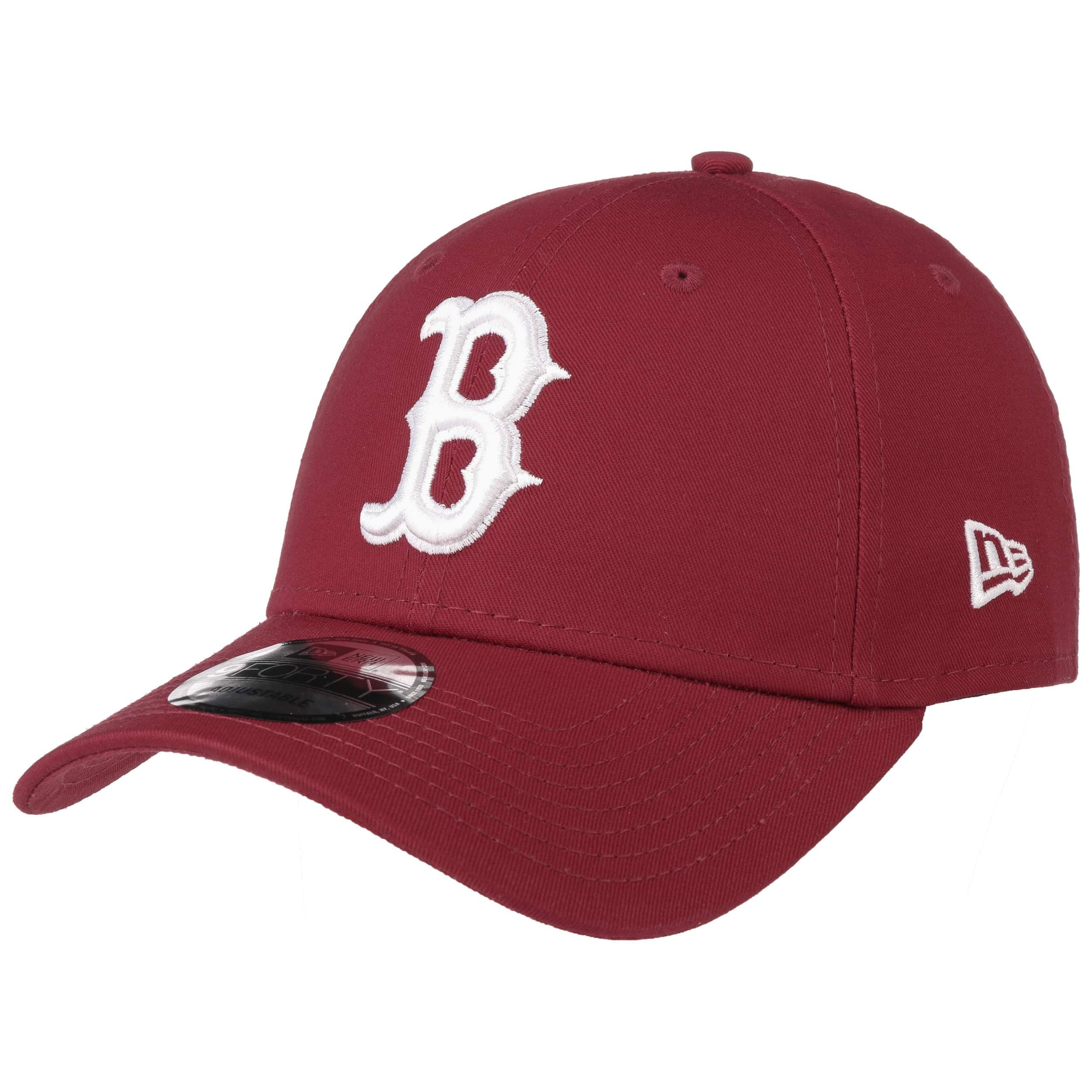 638655cd9c98 ... 9Forty League Ess Red Sox Cap by New Era - bordeaux 5