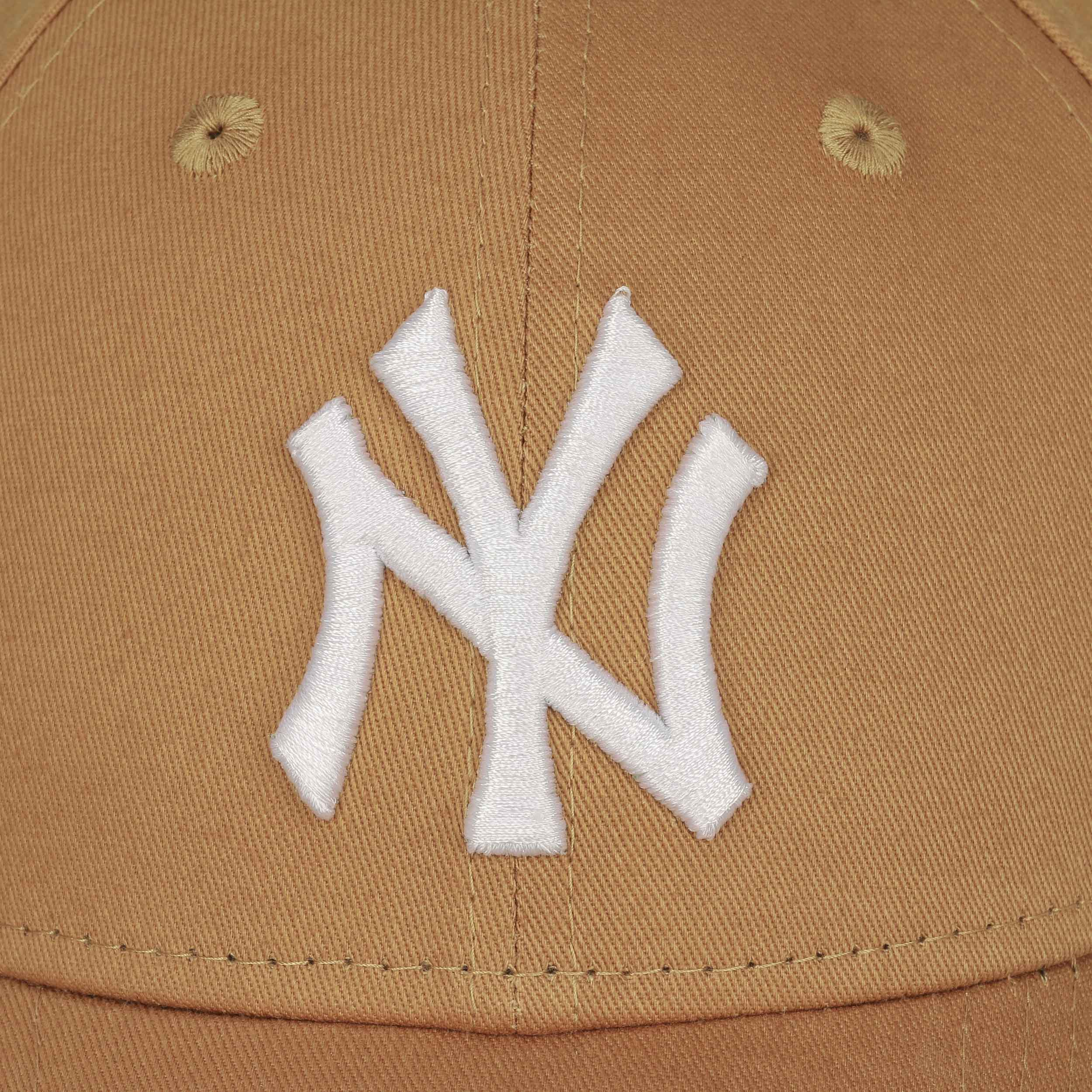 ... 9Forty League Essential NY Cap by New Era - light brown 4 ... cfa24b745