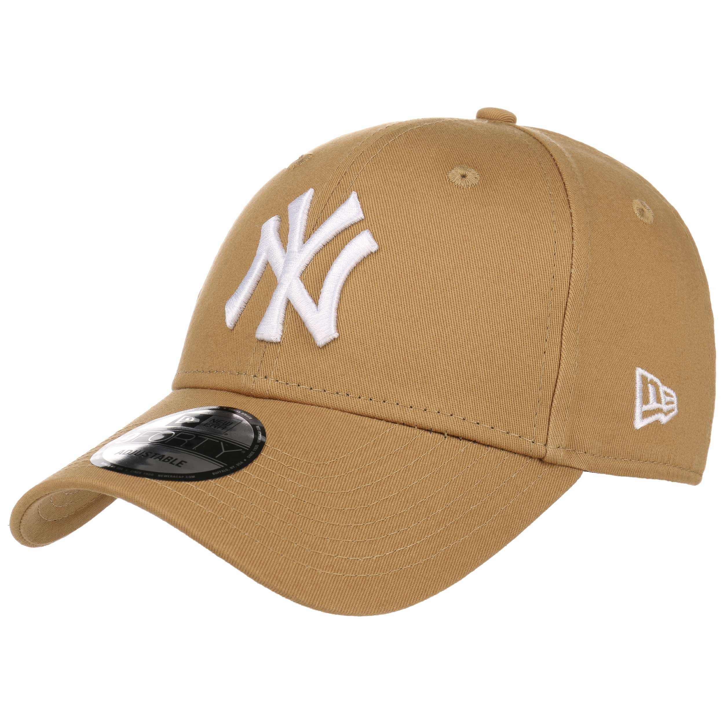 ... 9Forty League Essential NY Cap by New Era - light brown 6 ... 1420ba90a