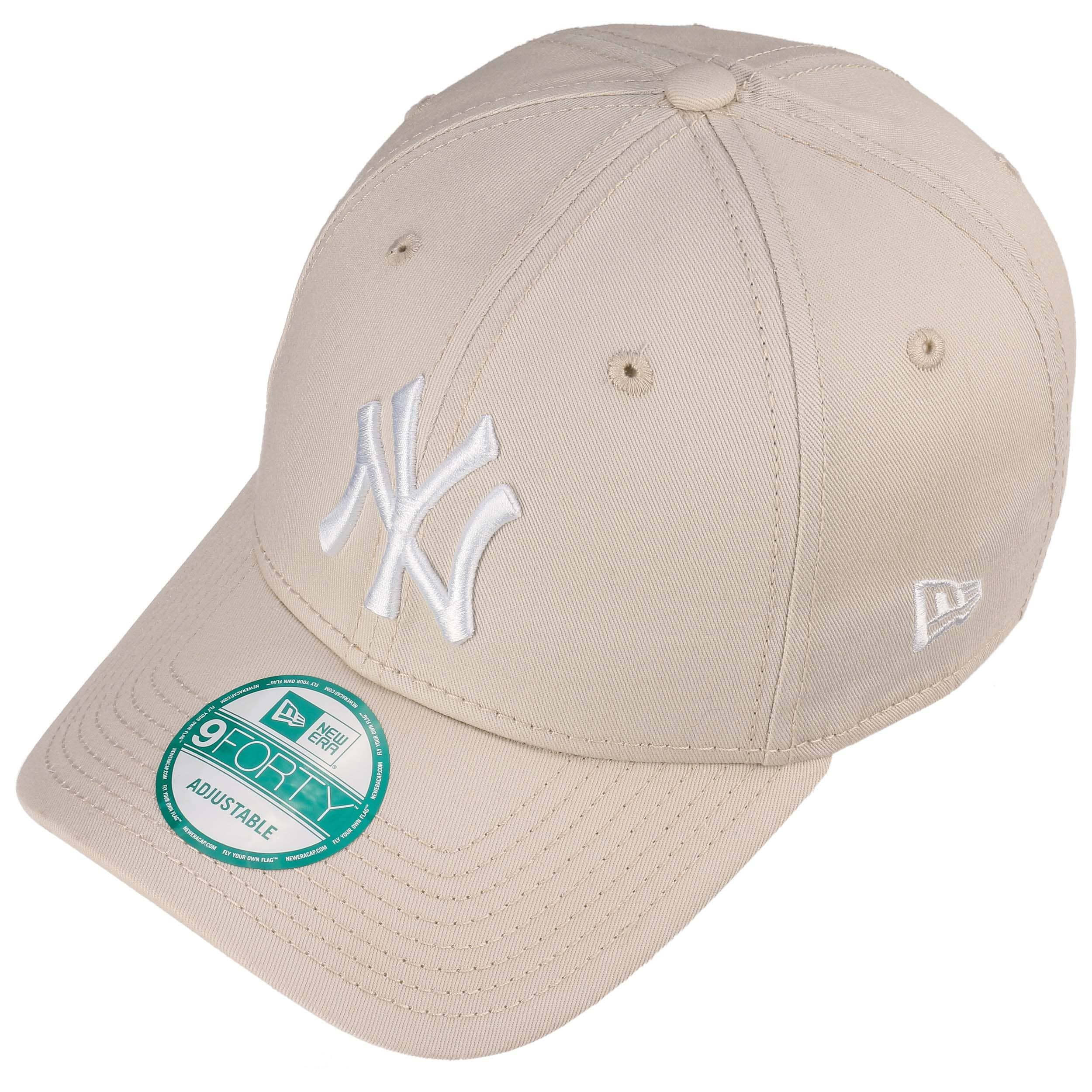 d9f27a2aa92 ... 9Forty League Essential NY Cap by New Era - oatmeal 1 ...