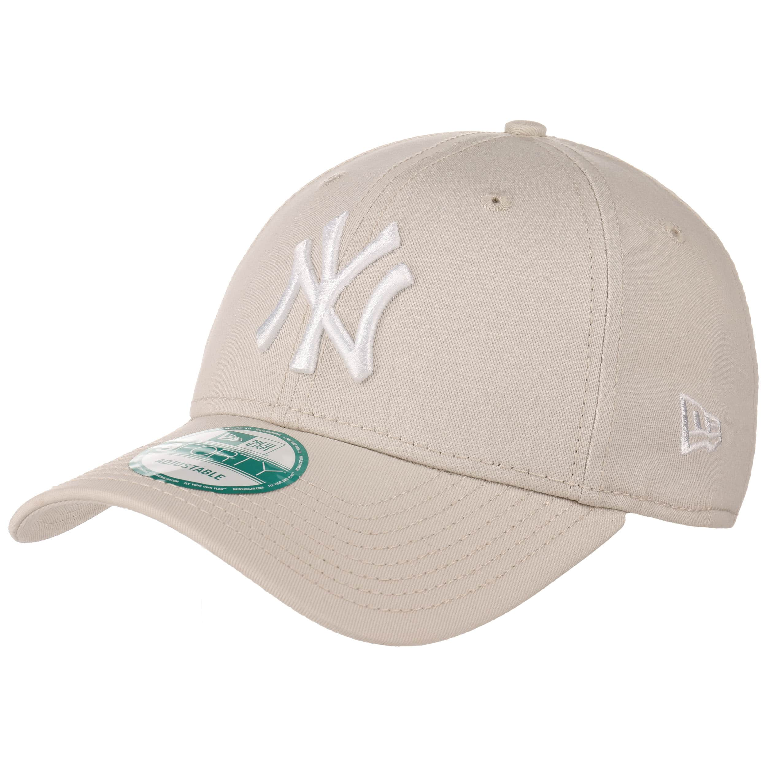 1ac0b5e762f ... 9Forty League Essential NY Cap by New Era - oatmeal 5 ...