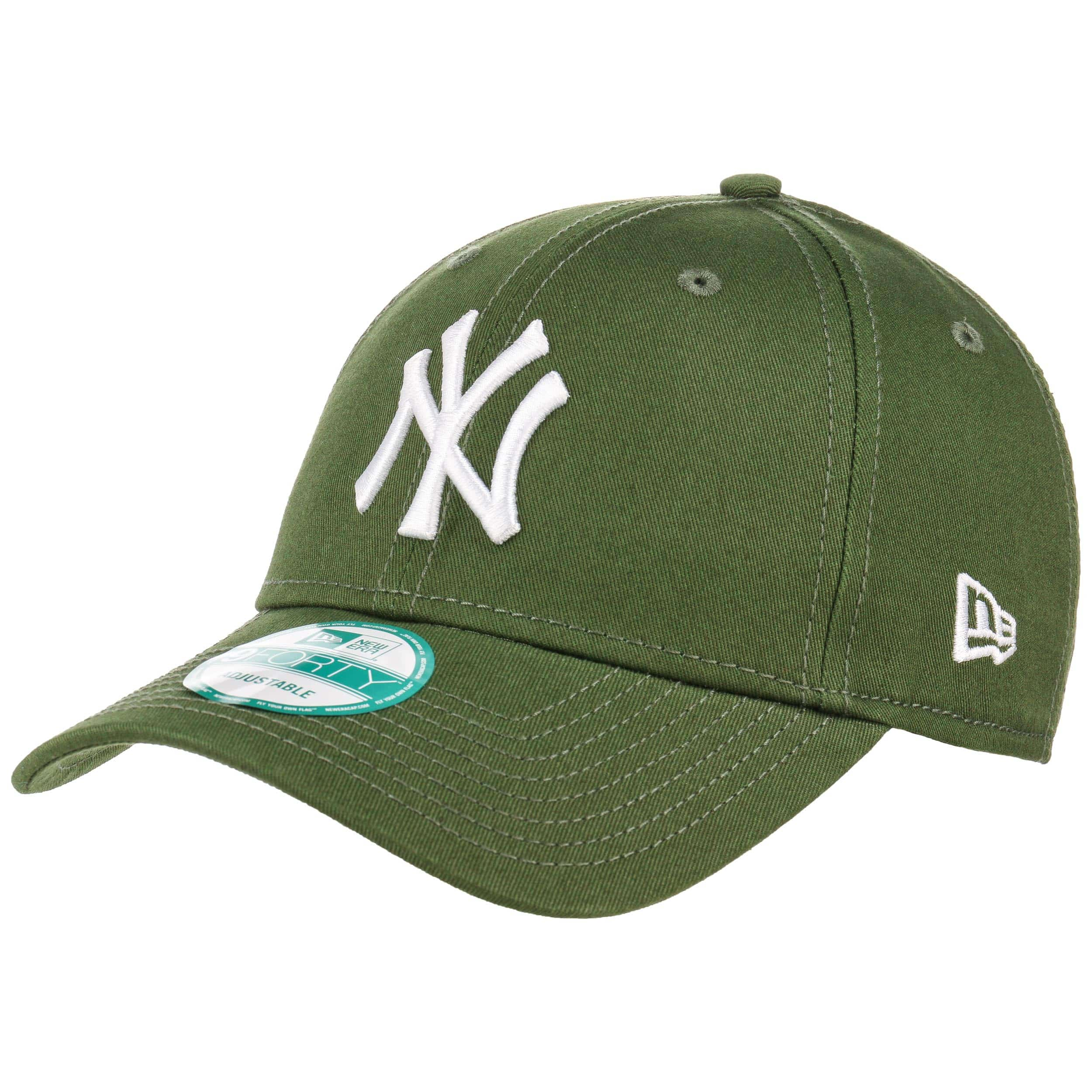 ... 9Forty League Essential NY Cap by New Era - olive 5 ... 2ad5d4e0d7