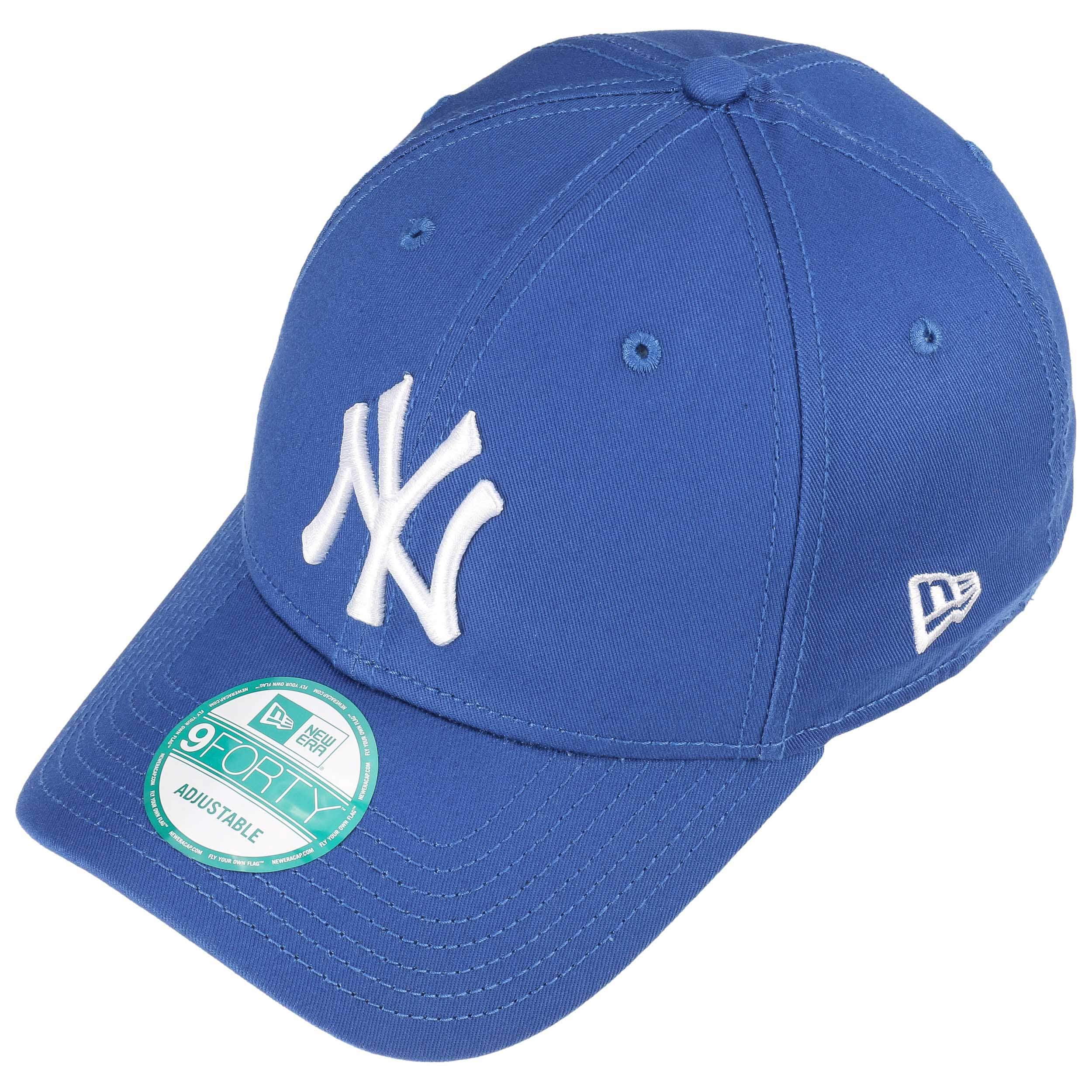 c5856a72681 ... 9Forty League Essential NY Cap by New Era - light blue 1 ...