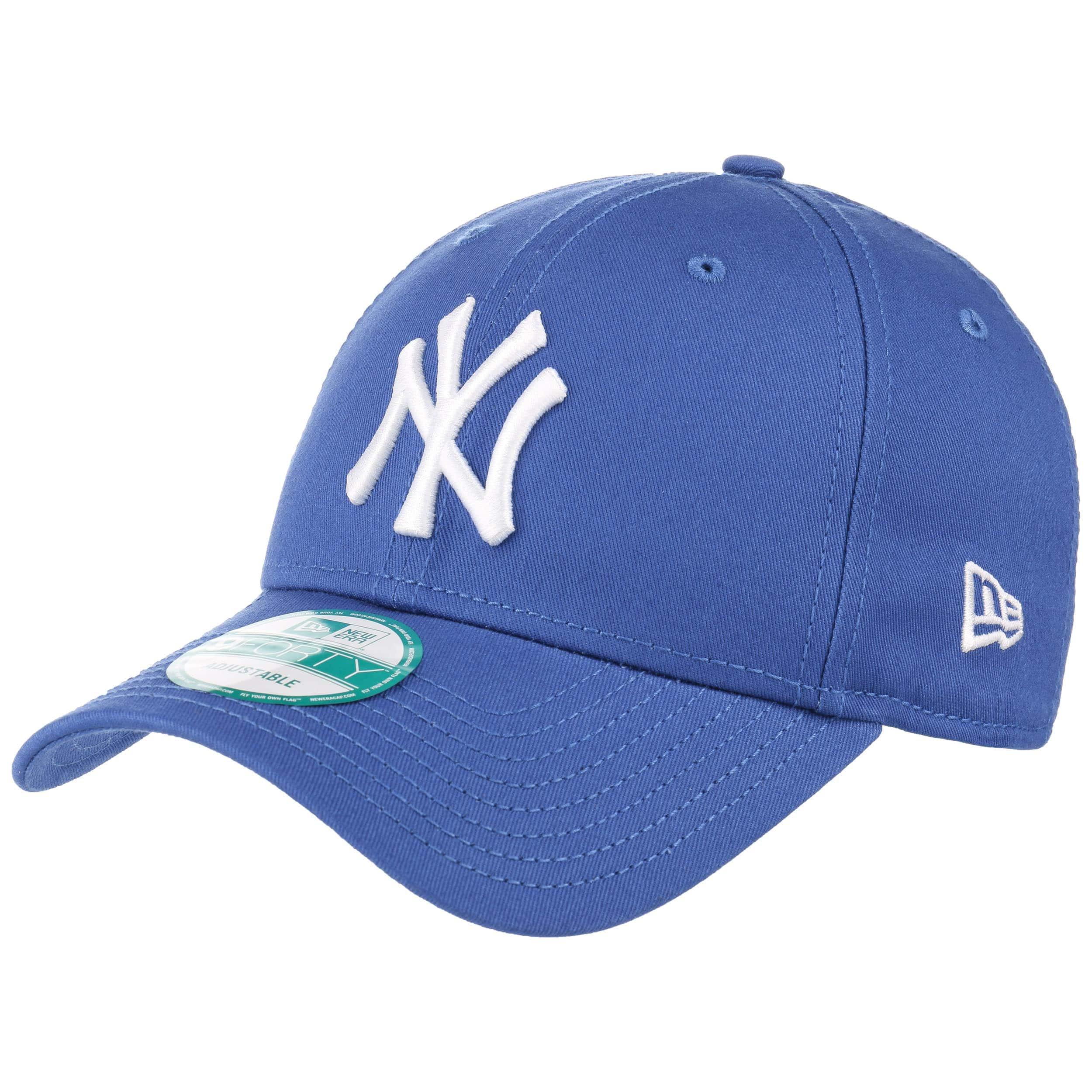 28f7f019698 ... 9Forty League Essential NY Cap by New Era - black-black 2 ...