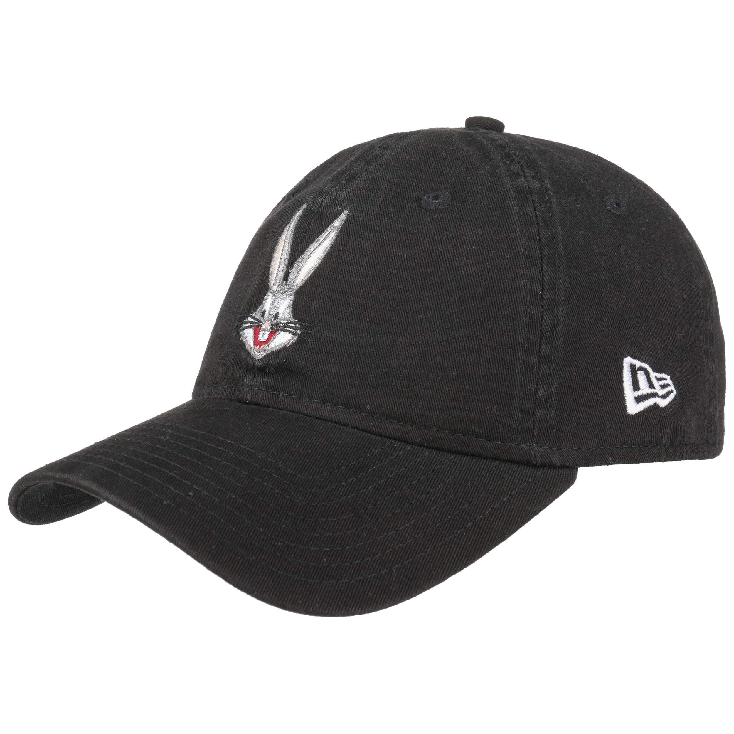 ... 9Forty Looney Tunes Bugs Bunny Cap by New Era - black 6 93b2e062908