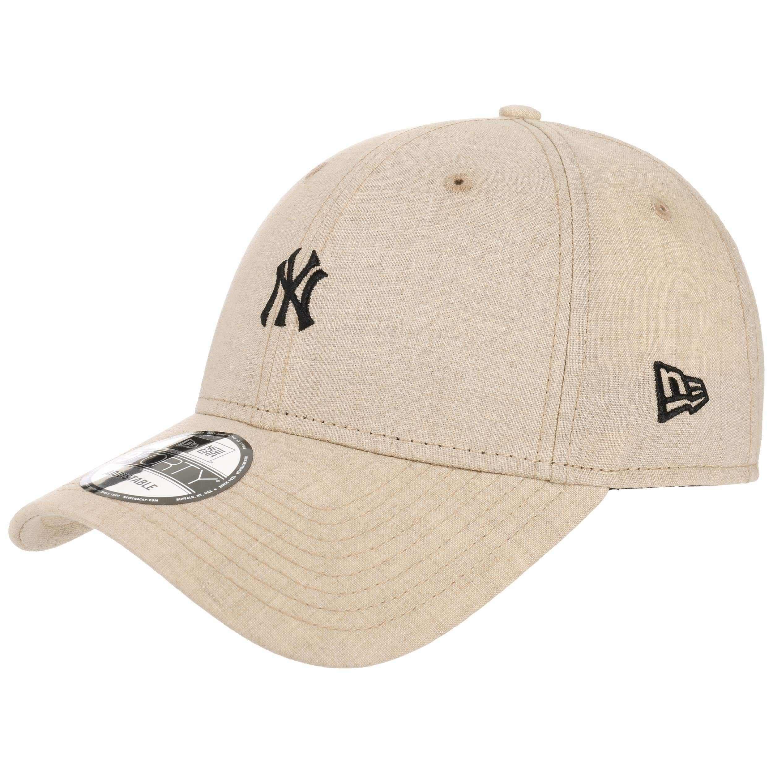 ... 9Forty Small Logo Yankees Cap by New Era - oatmeal 6 10b8a072c04