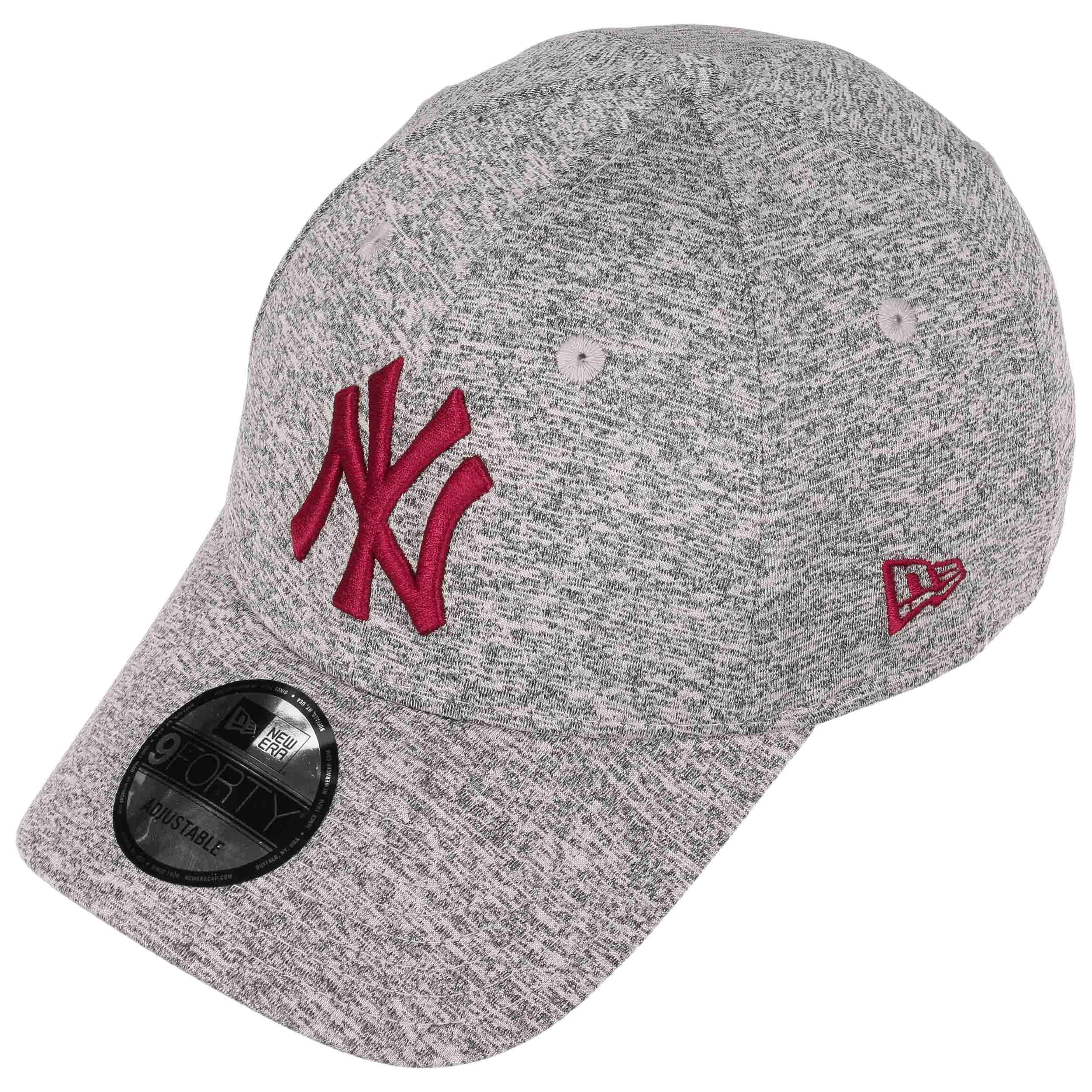 332a7988248ac 9Forty Tech Jersey Yankees Cap by New Era - grey-red 1 ...