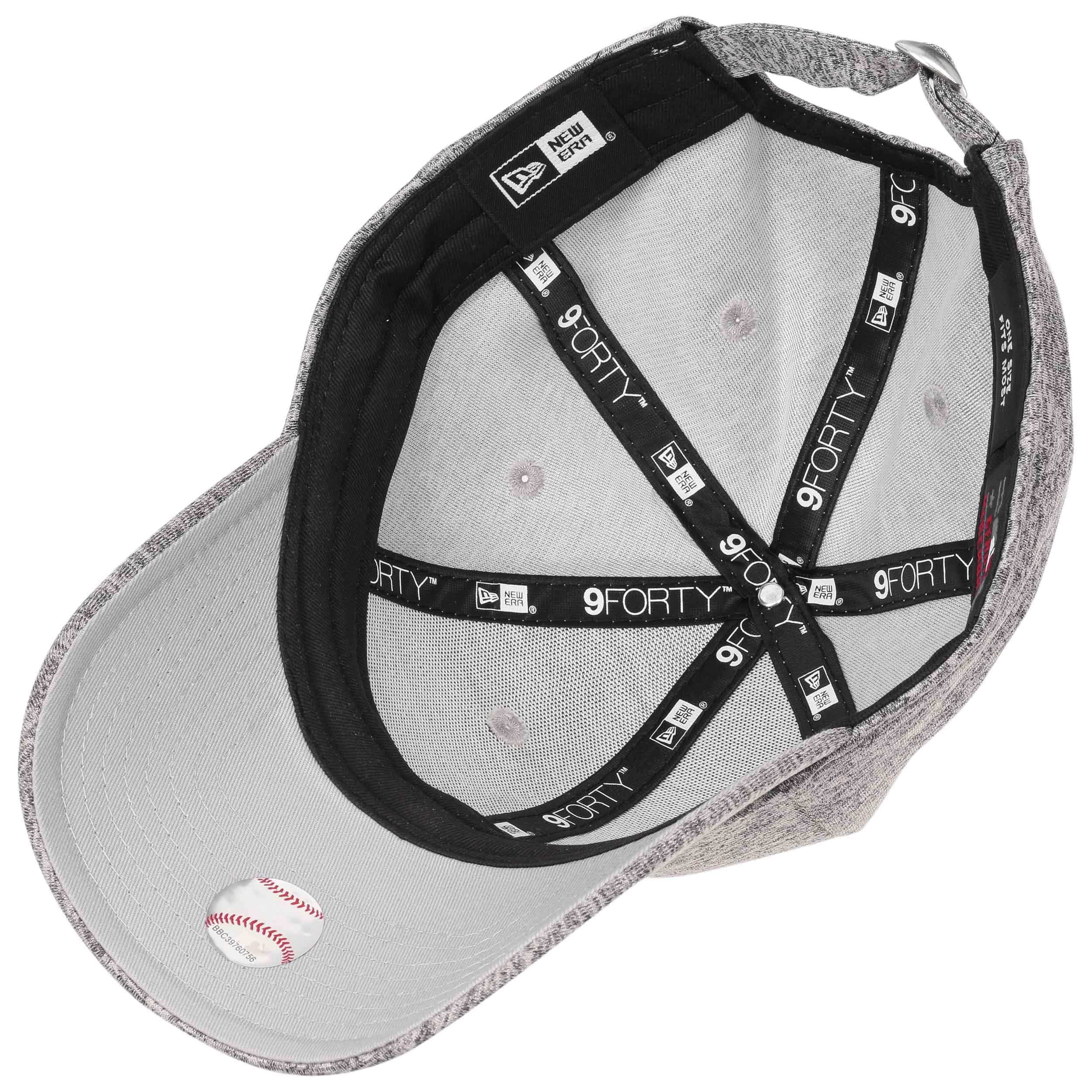 bf07f280b5533 ... 9Forty Tech Jersey Yankees Cap by New Era - grey-red 2 ...
