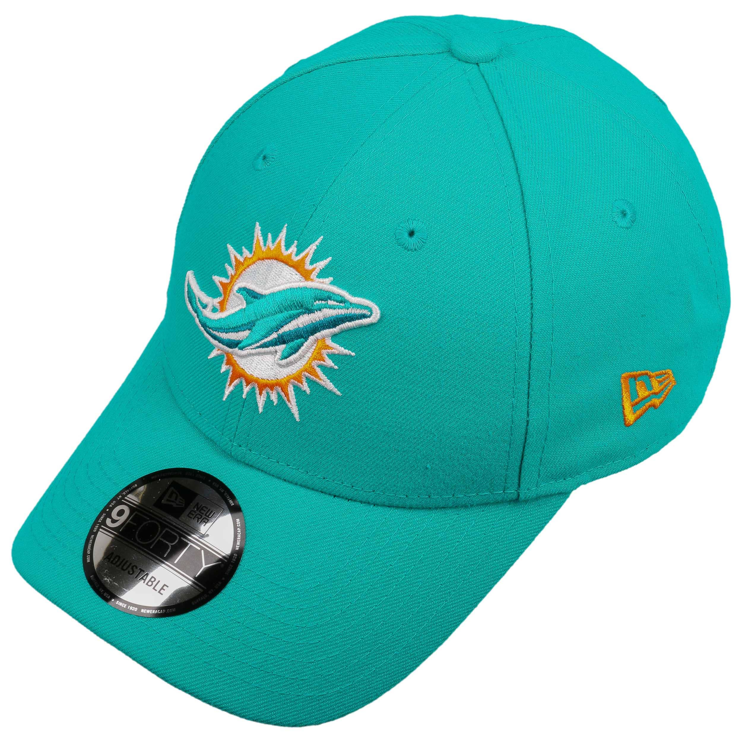 9Forty The League Dolphins Cap by New Era - turquoise 1 ... 8194b461b9e