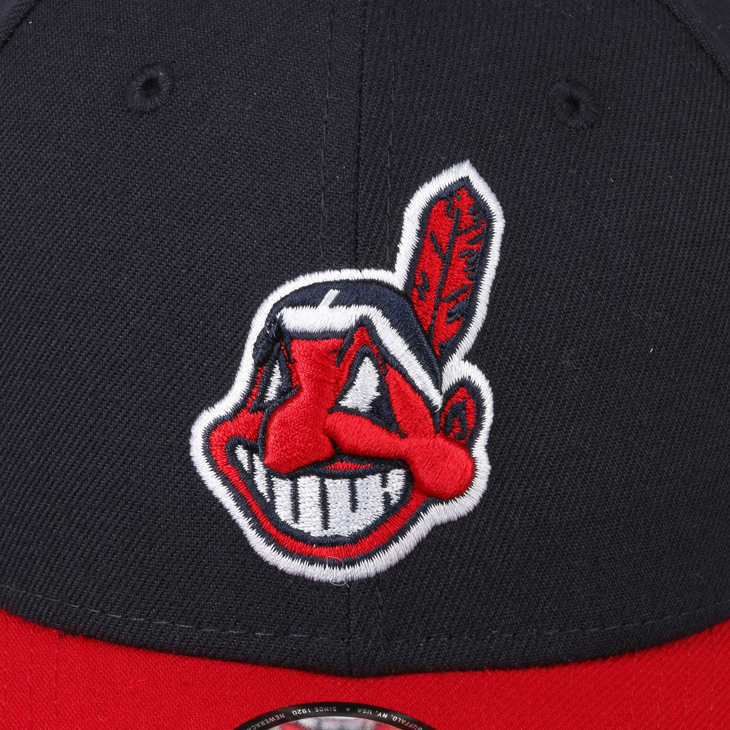 4c874e58f26 ... 9Forty The League Indians Cap by New Era - navy 4 ...