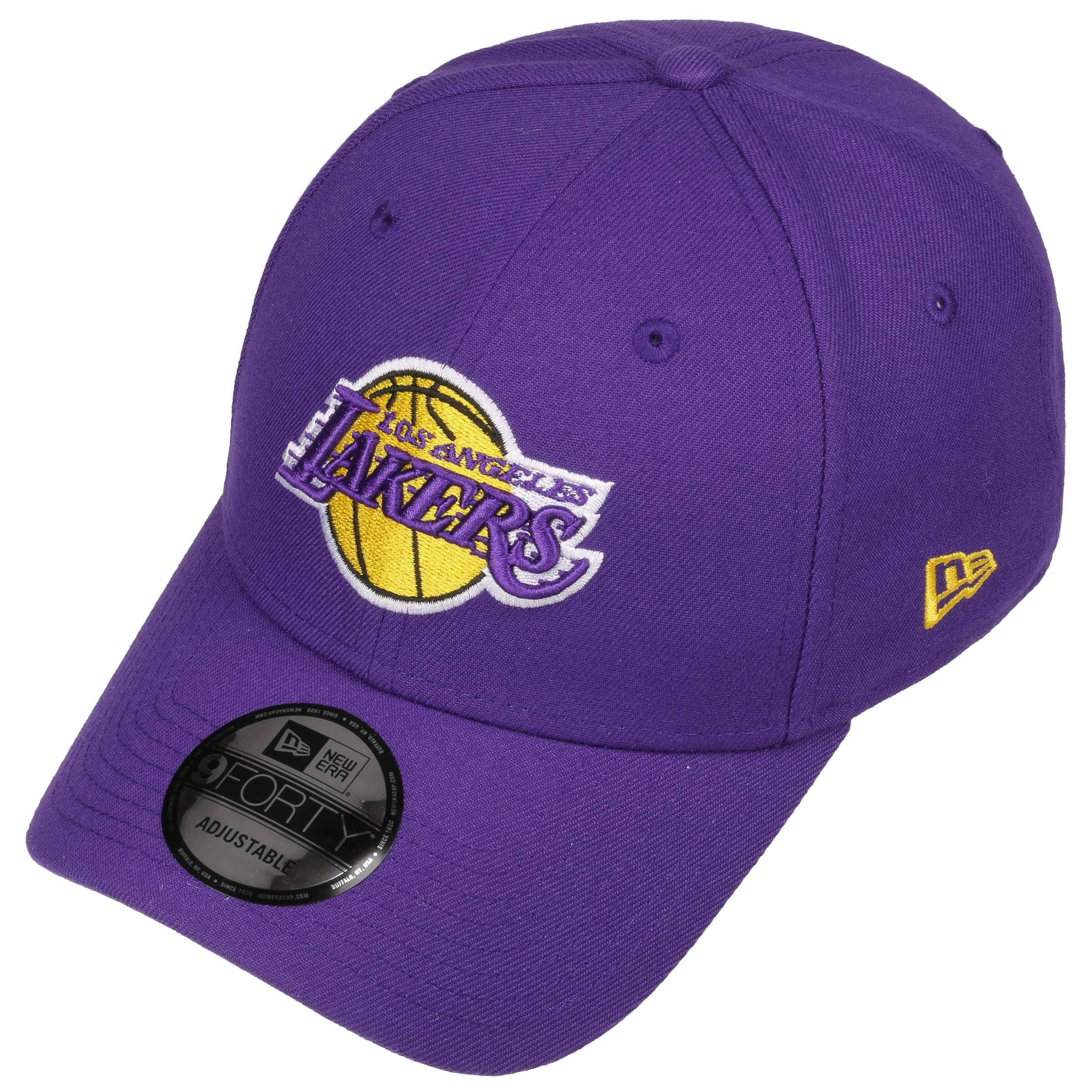 9Forty The League Lakers Cap by New Era - purple 1 ... 57b762a6439