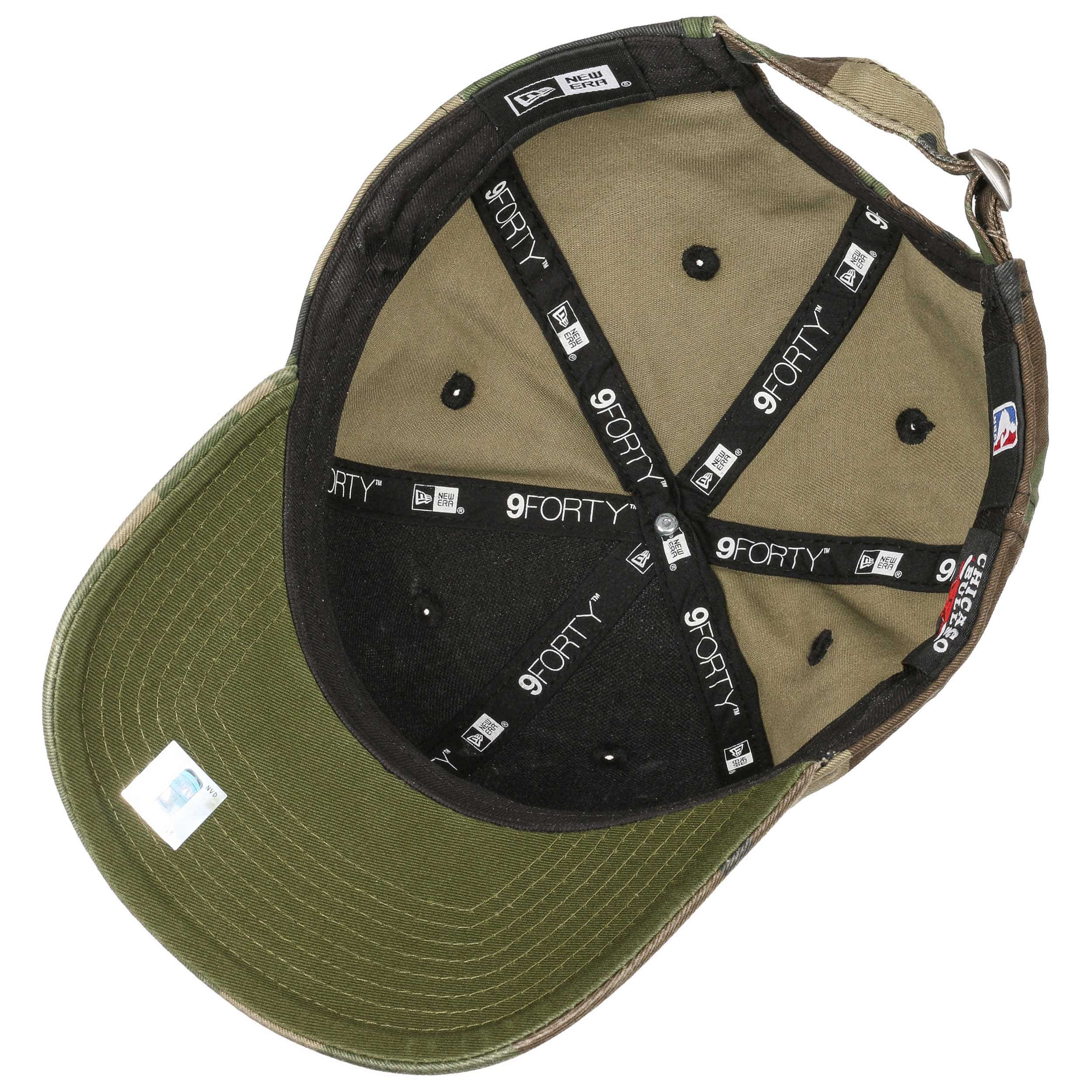... 9Forty Wash Camo Bulls Cap by New Era - camouflage 2 ... 5dcc886d558
