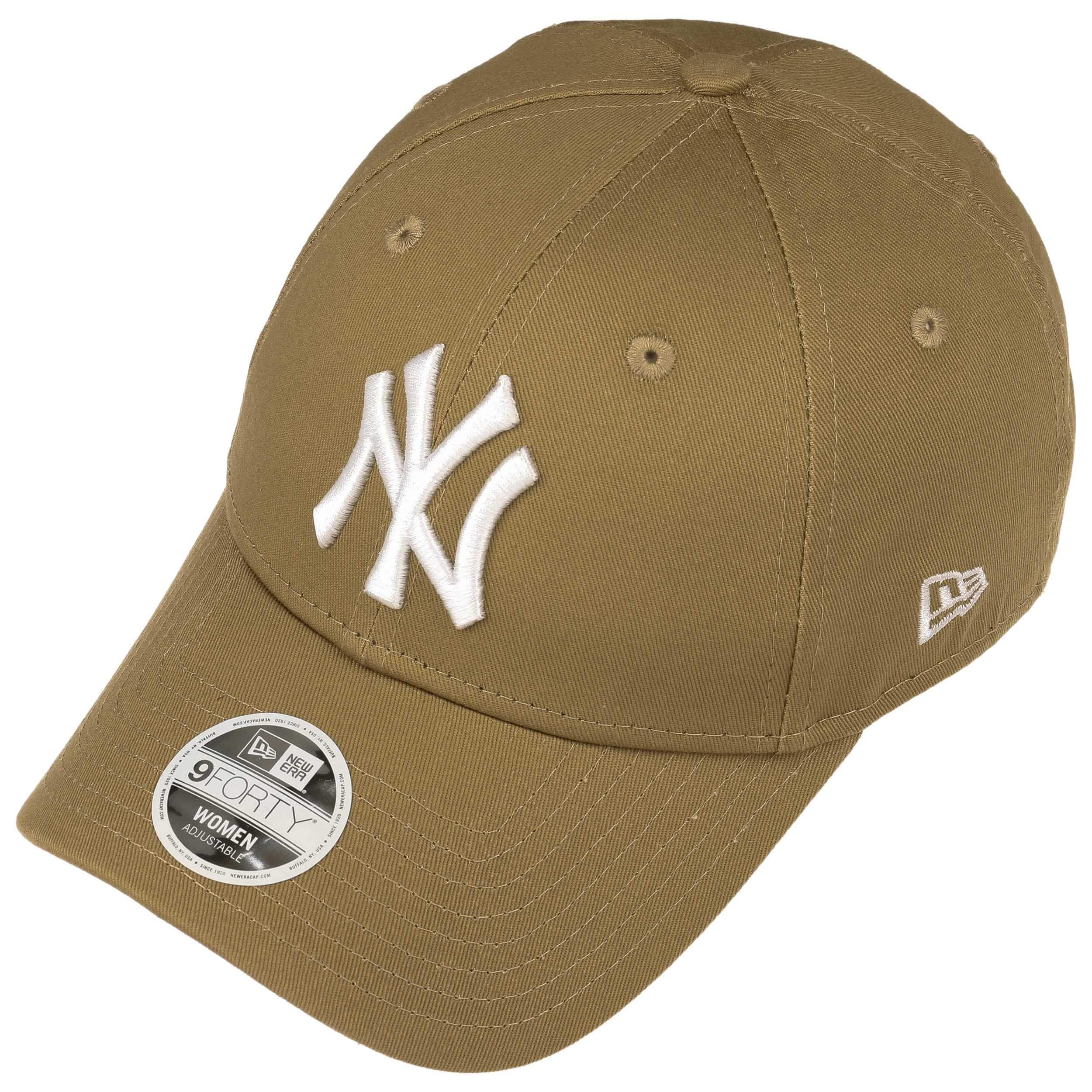 9Forty Women´s Classic Yankees Cap by New Era - khaki 1 ... 3993658c4f6
