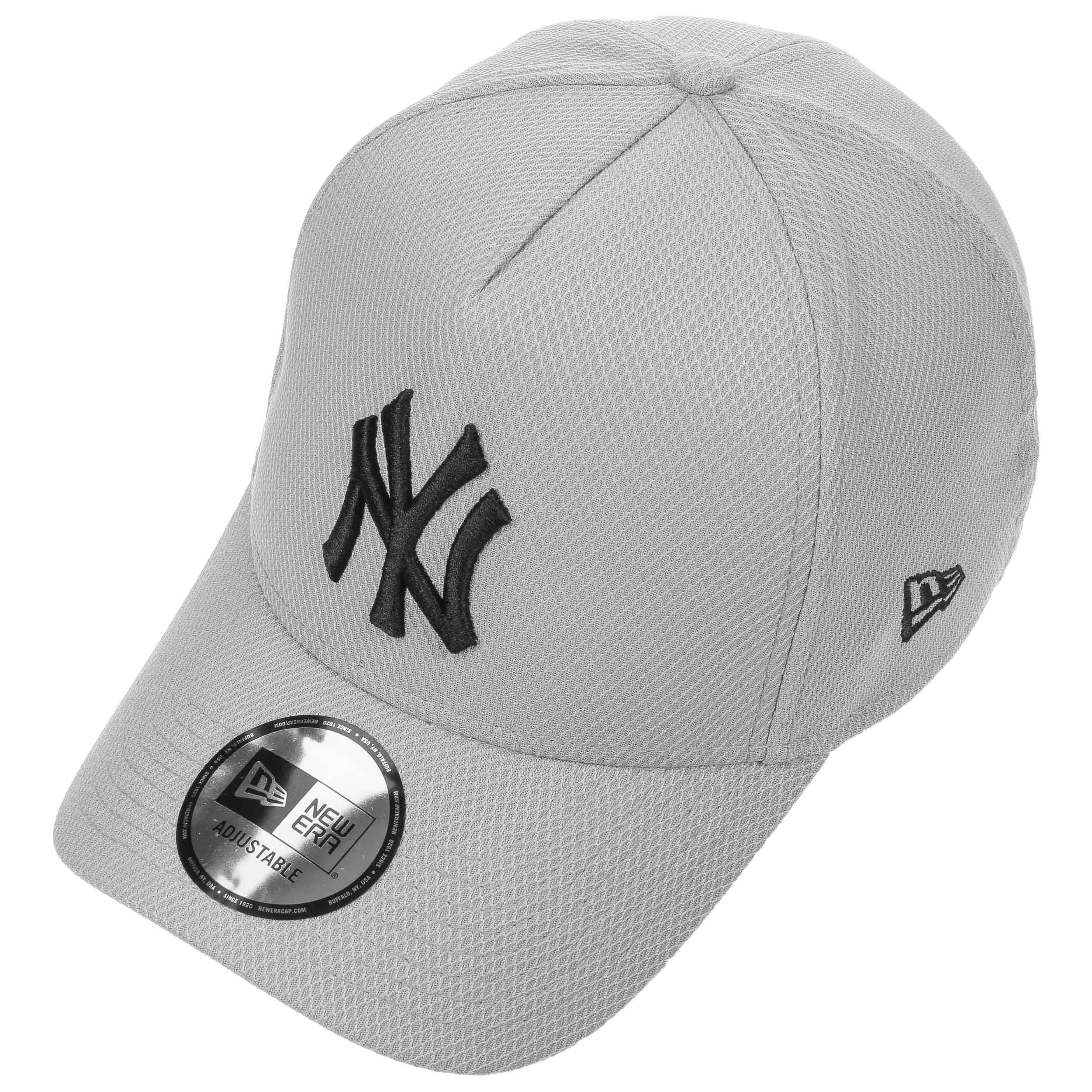 the latest b5238 b17ad A-Frame Diamond Yankees Cap by New Era - grey 1 ...