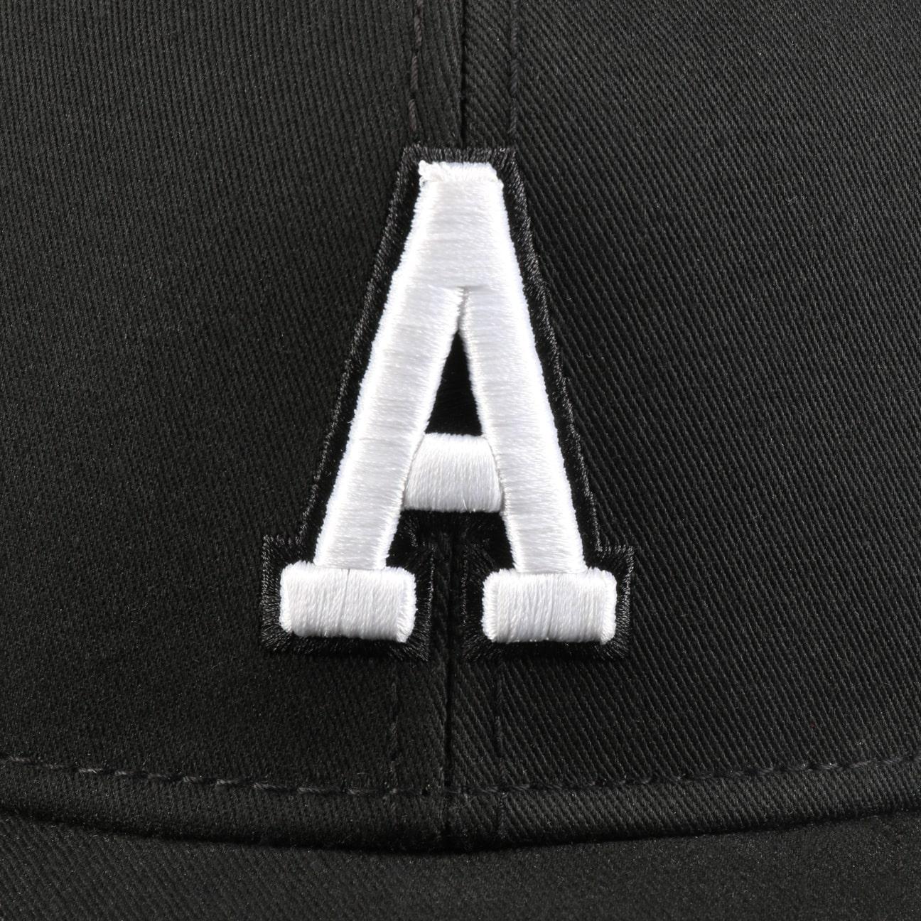 ... A Letter Snapback Cap - black 4 ... 3cf398736d8