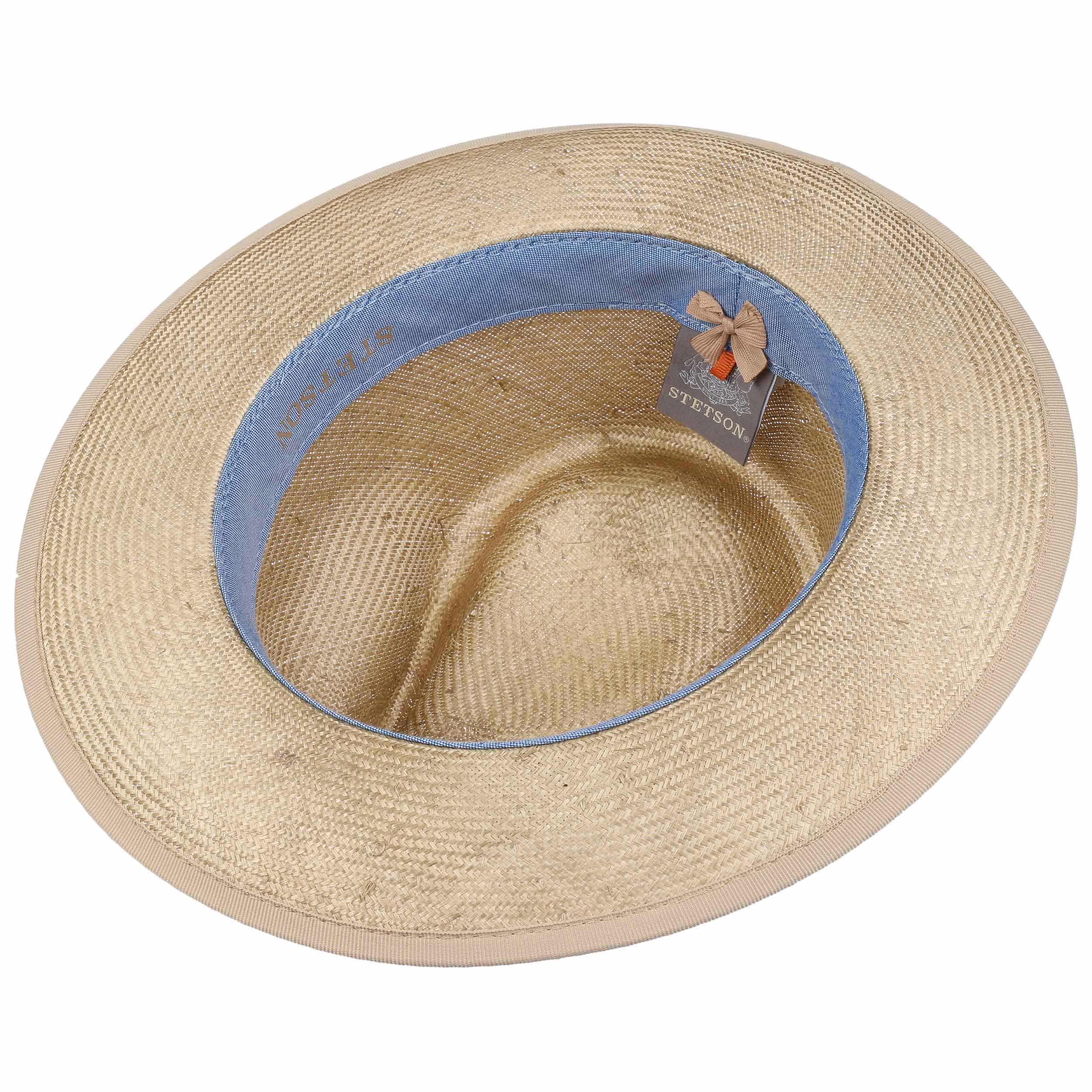 Abaca Fedora Straw Hat By Stetson 136 95