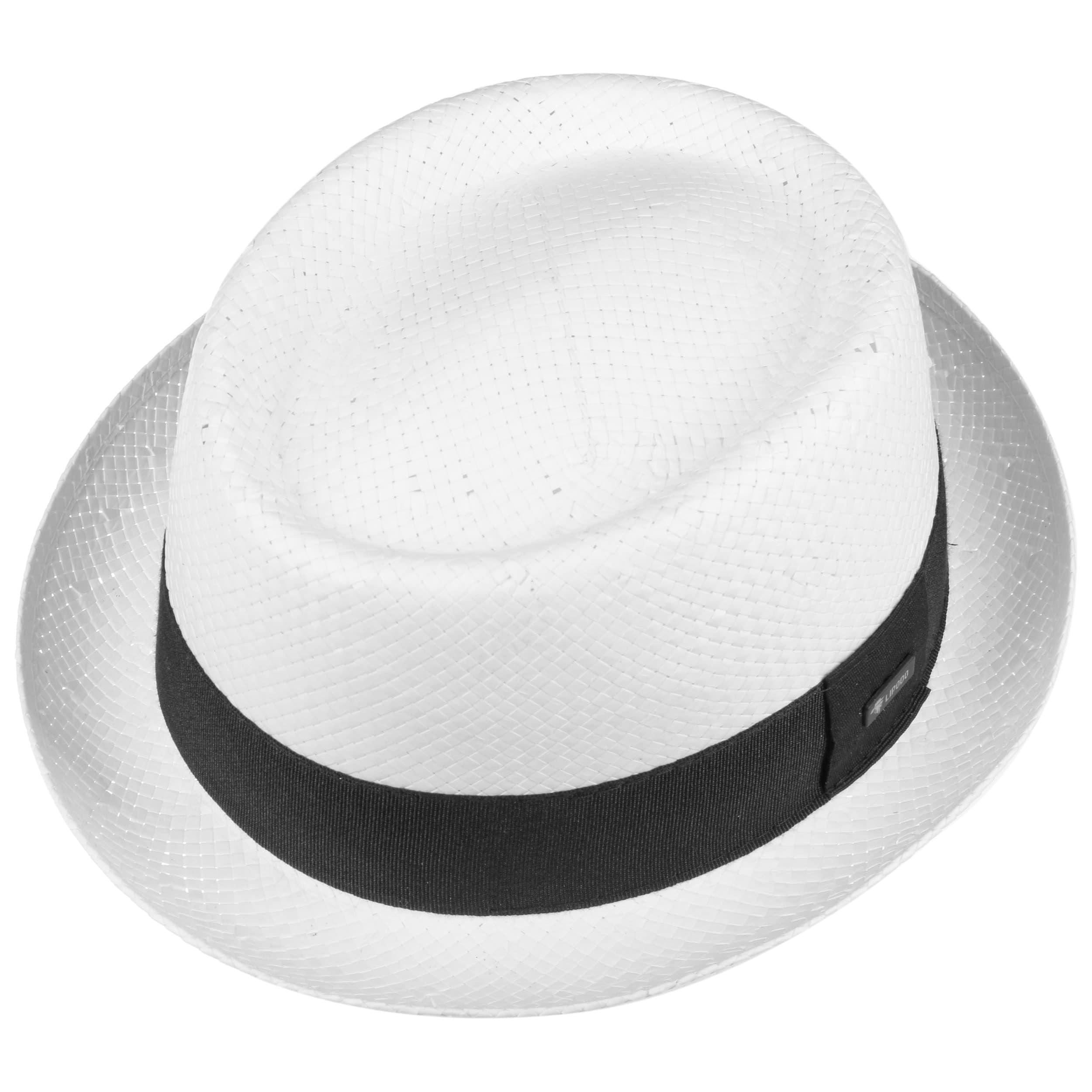 946b375c1fe Acapulco White Pork Pie Hat by Lipodo - white 1 ...