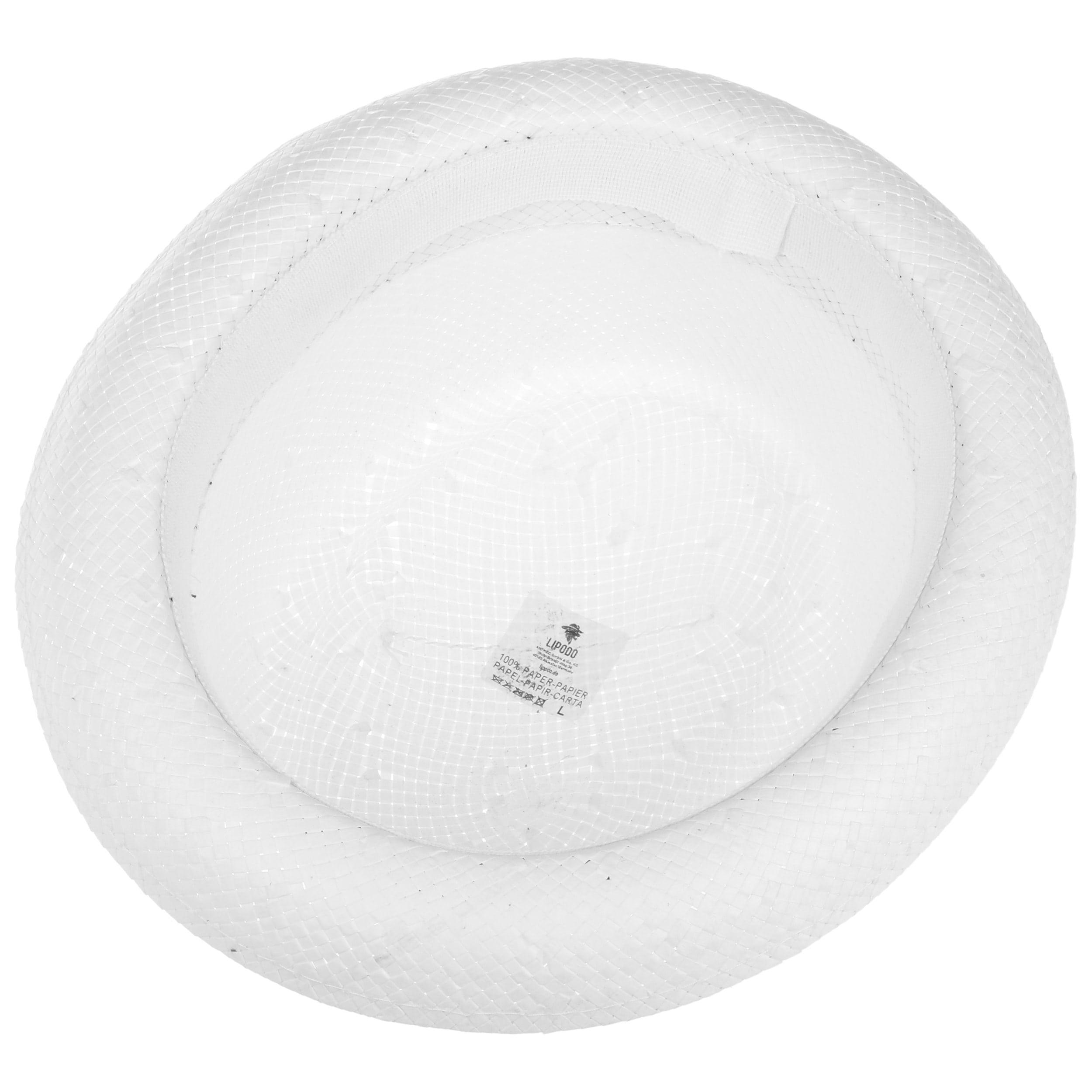 34f3d2c0a7f ... Acapulco White Pork Pie Hat by Lipodo - white 2 ...