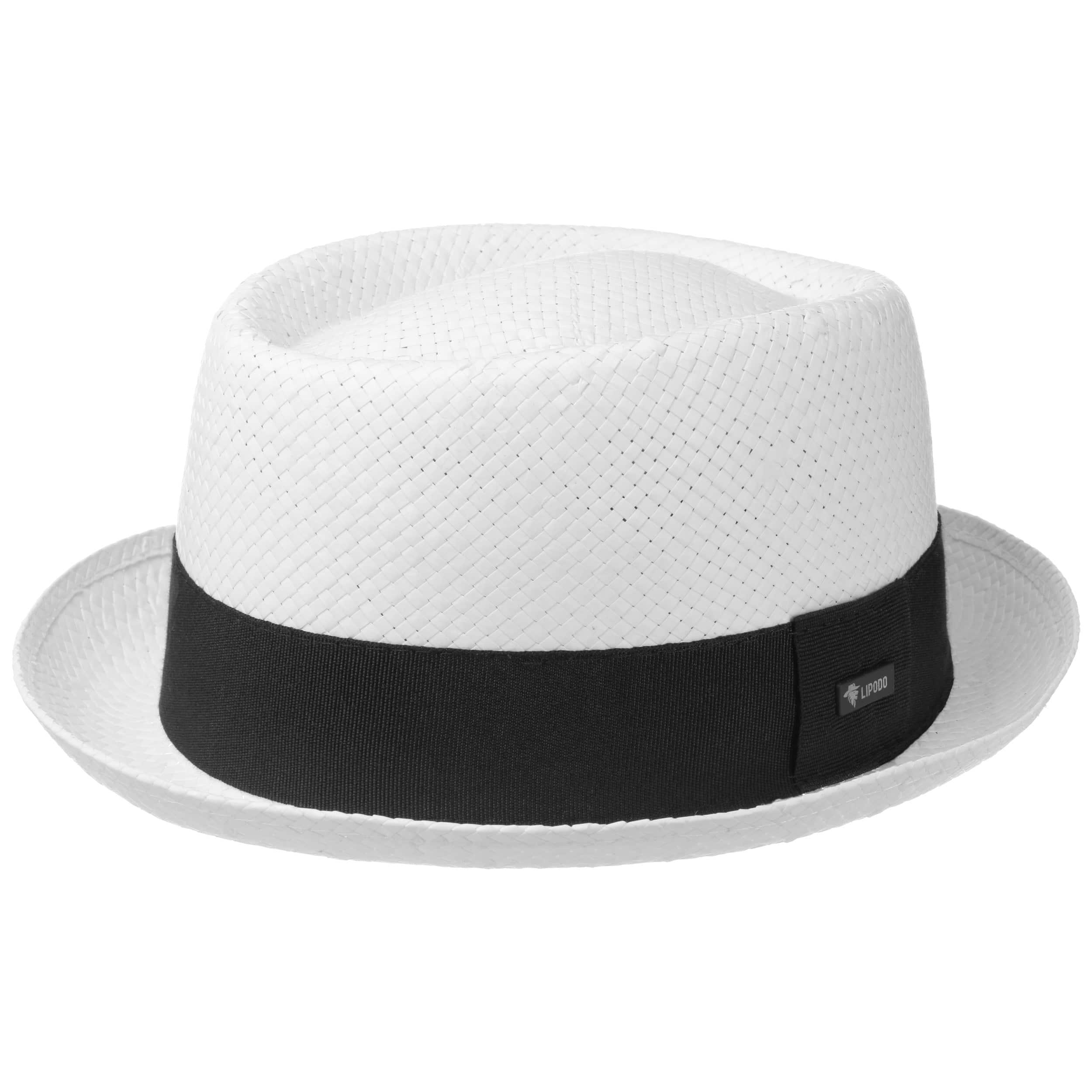 aa266c867fc Acapulco White Pork Pie Hat. by Lipodo