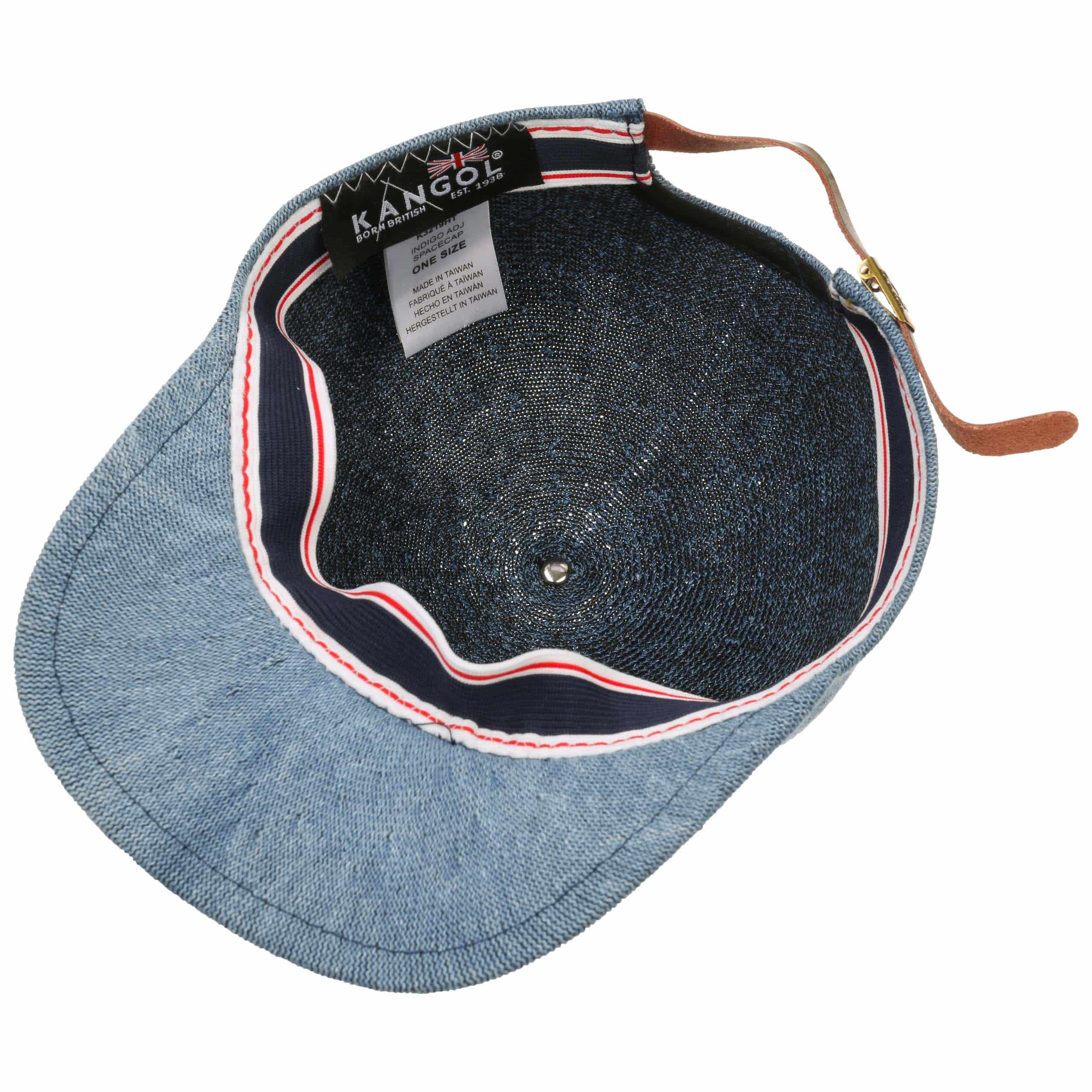 92db8202241 ... Adjustable Baseball Cap by Kangol - blue 2 ...