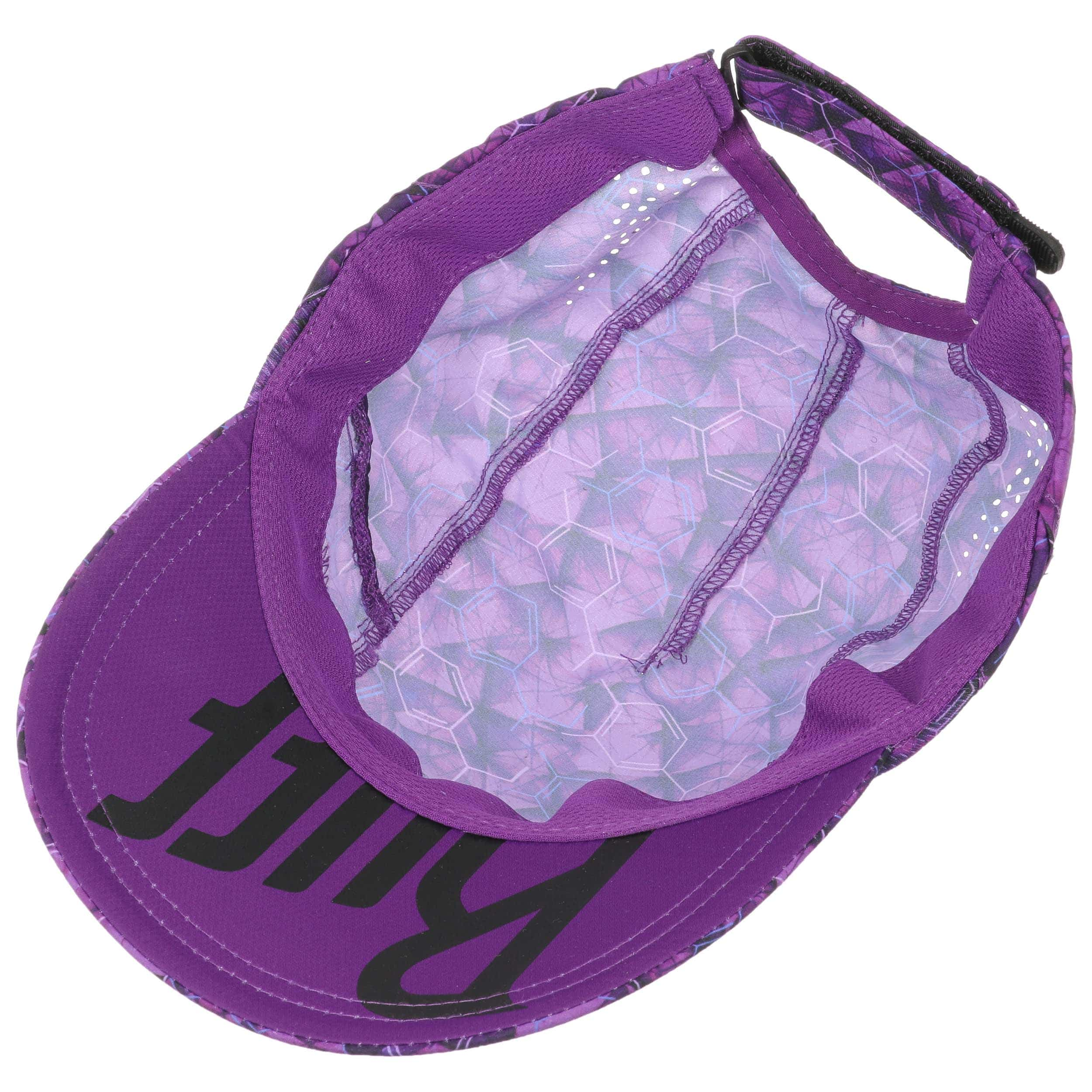 9297d196d6aca ... Adren Purple Lilac Pro Run Cap by BUFF - lila 3 ...