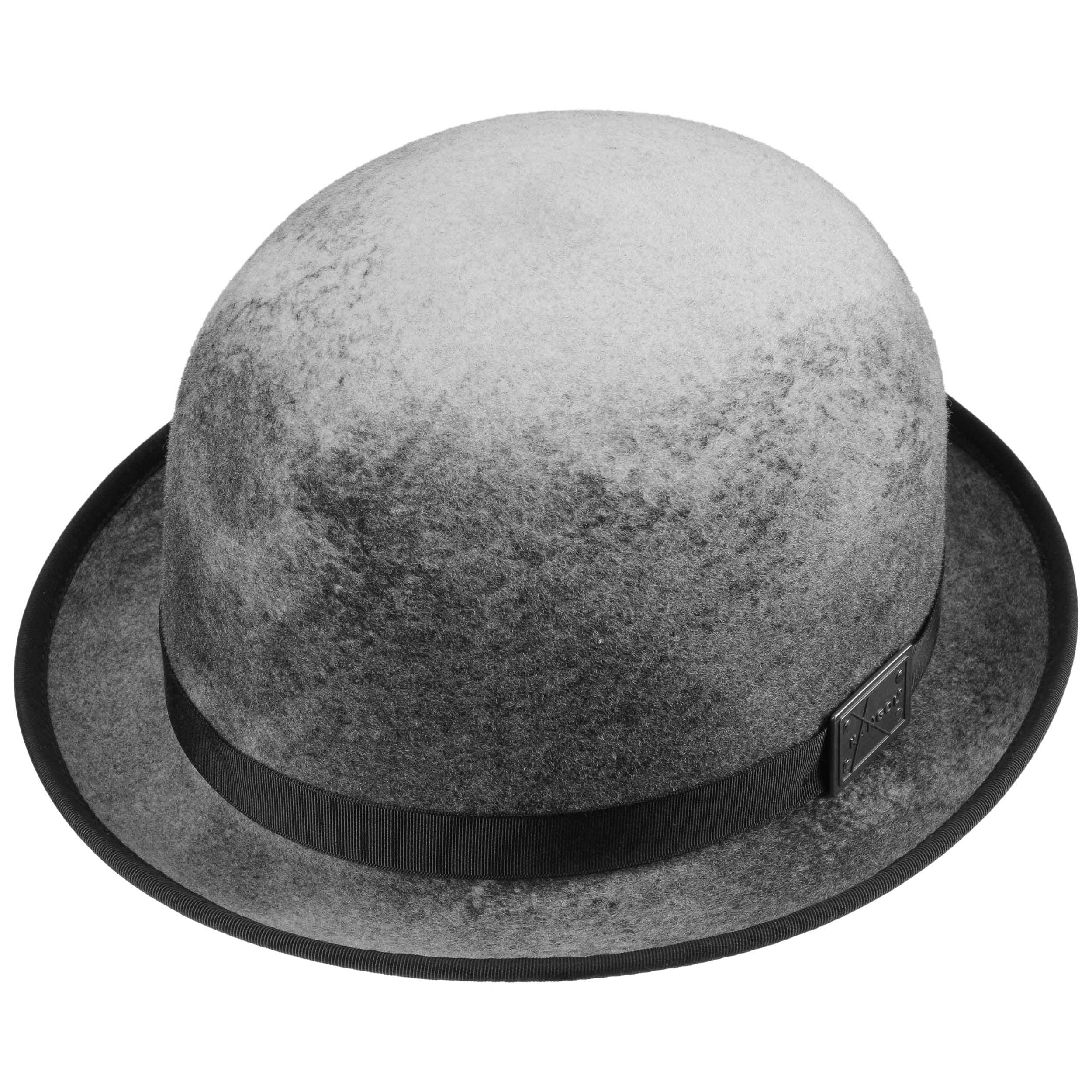 Aged Bowler Wool Felt Hat by Kangol - grey 1 ... 27766fbe8399