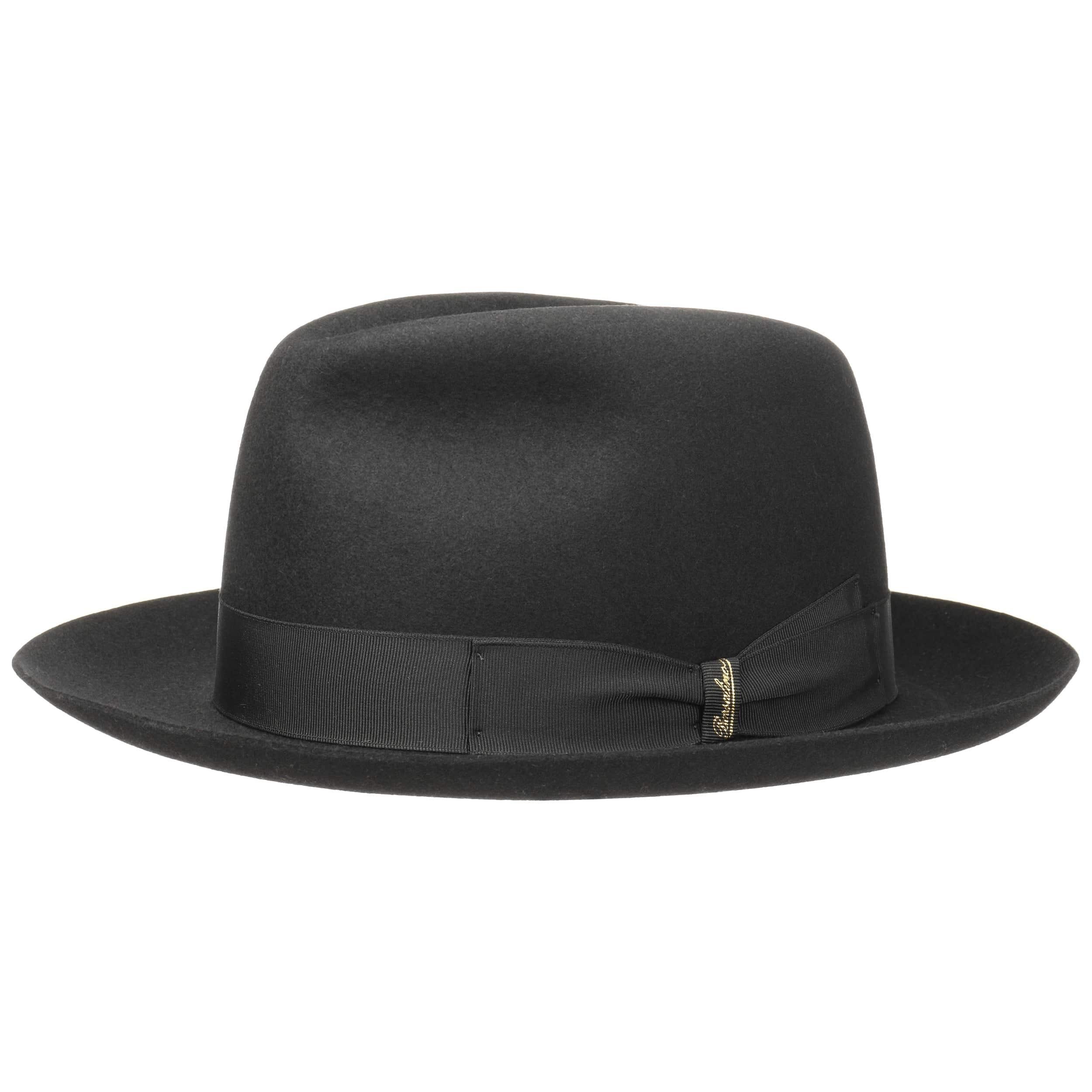 ... Alessandria Rainproof Hat by Borsalino - black 4 ... 20c9d1eb15b