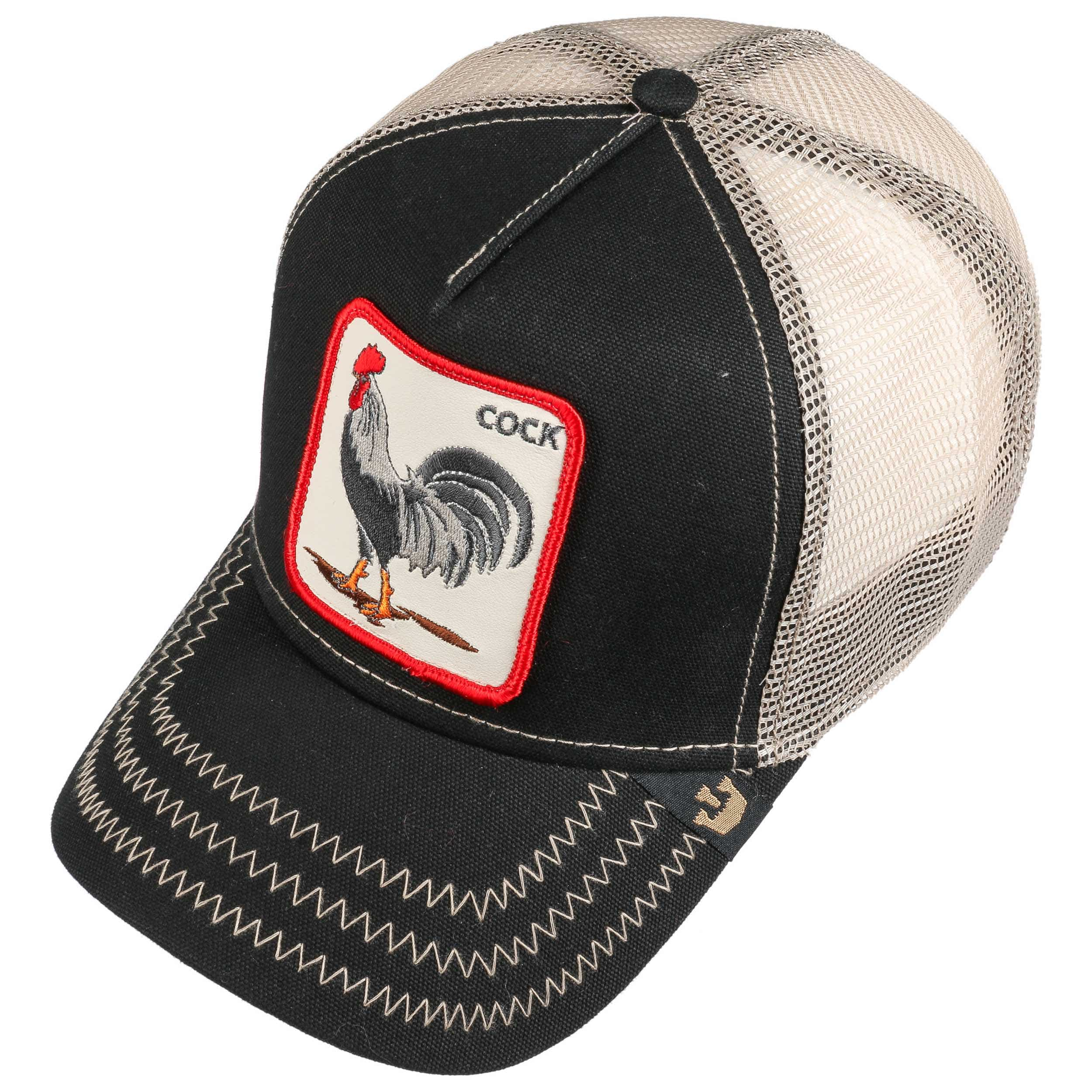 All American Rooster Trucker Cap By Goorin Bros 31 95