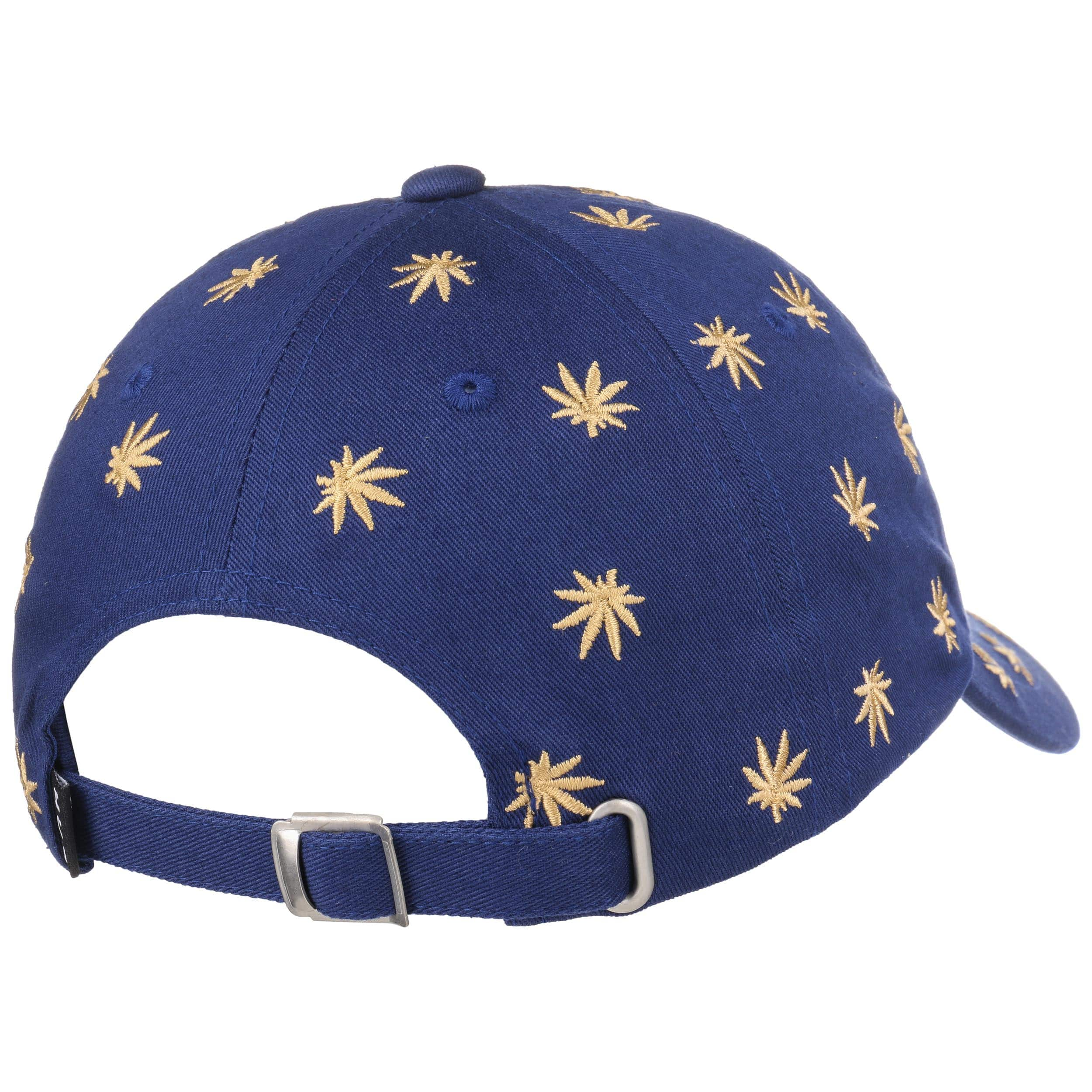 380e230284b556 ... Allover Dad Hat Strapback Cap by HUF - navy 3 ...
