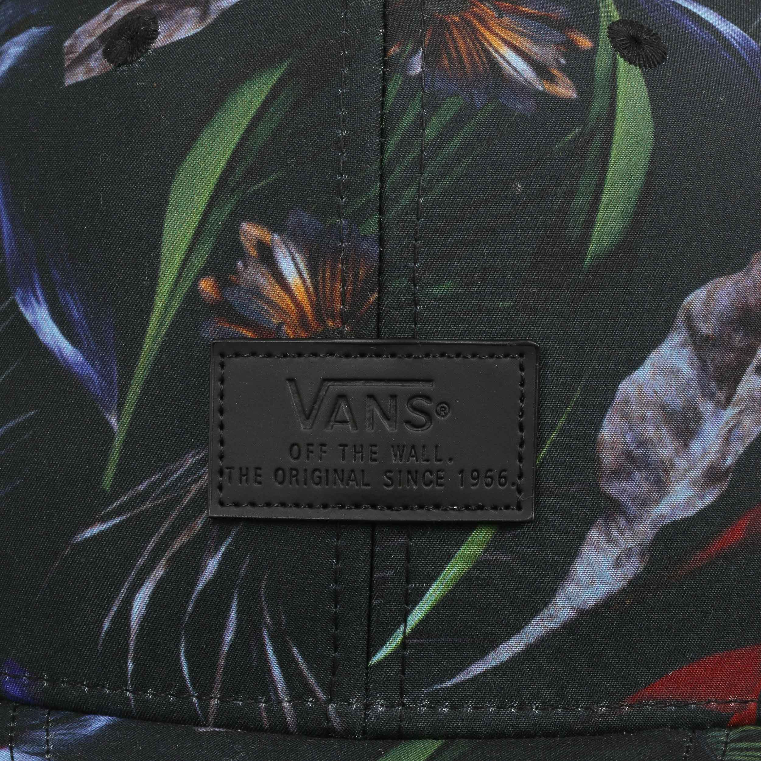 e2191e539b4b2 ... Allover Jungle Snapback Cap by Vans - schwarz 5. 32 ...