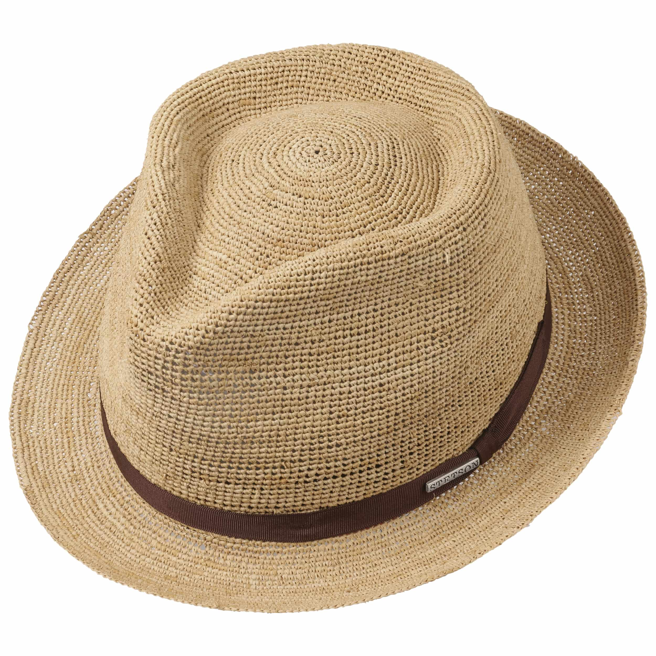 Alpena Player Crochet Raffia Hat by Stetson Sun hats Stetson NRrB1