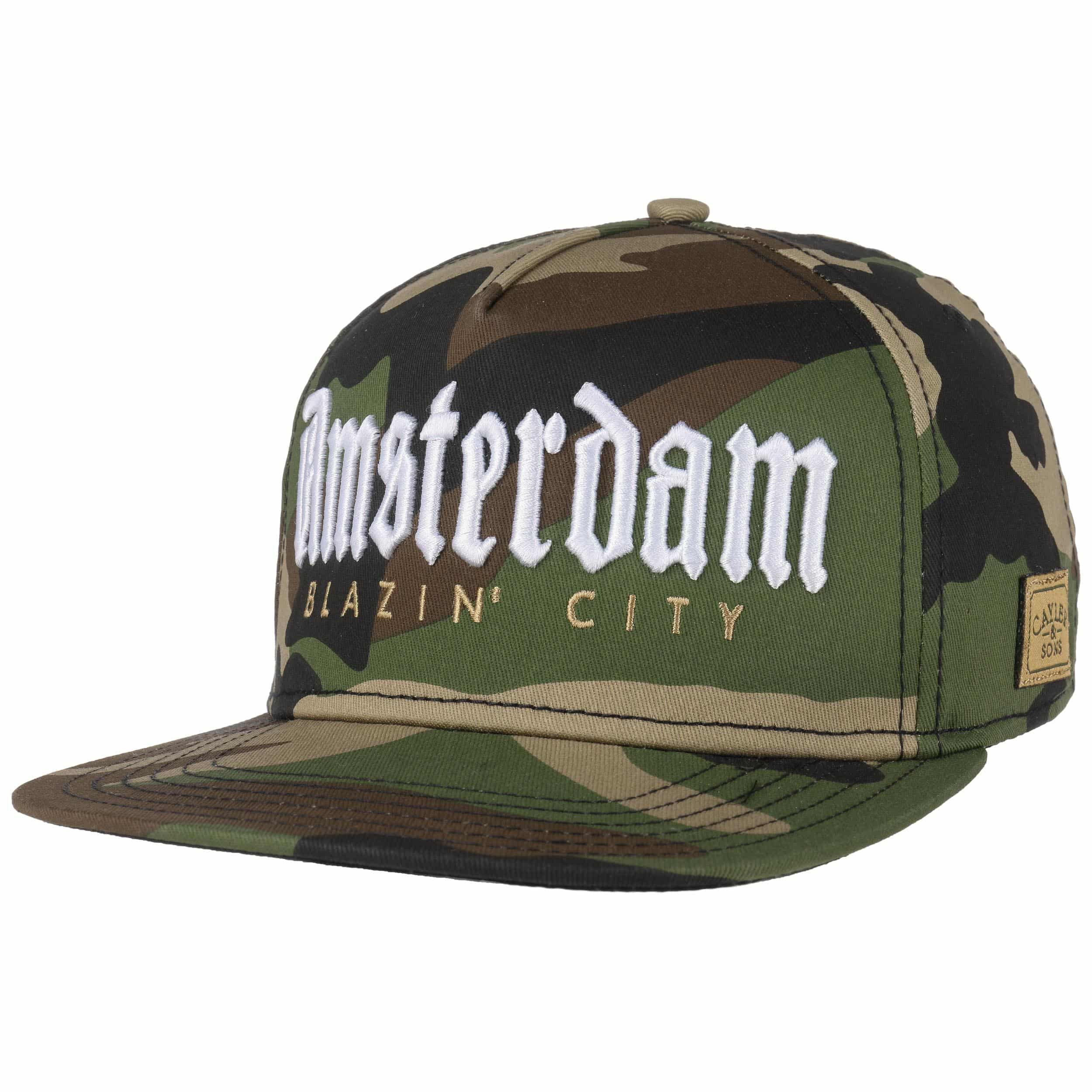 Amsterdam Snapback Cap By Cayler Amp Sons 29 99