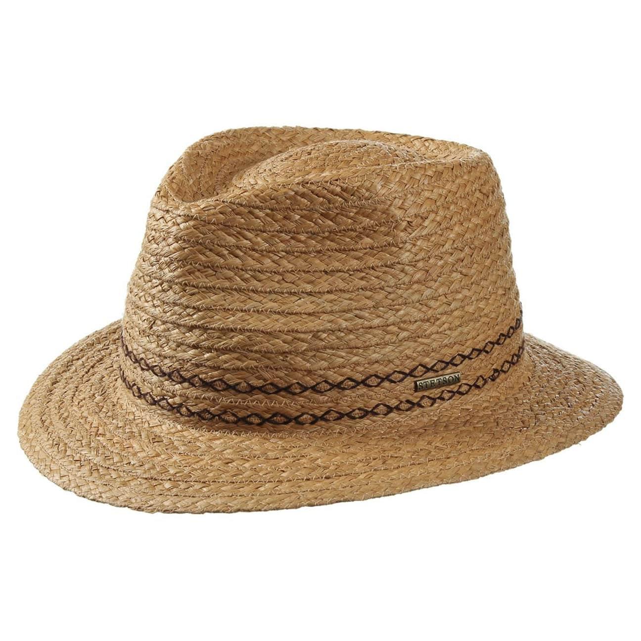 850b191b7ab12 ... Andover Raffia Straw Hat by Stetson - nature 1