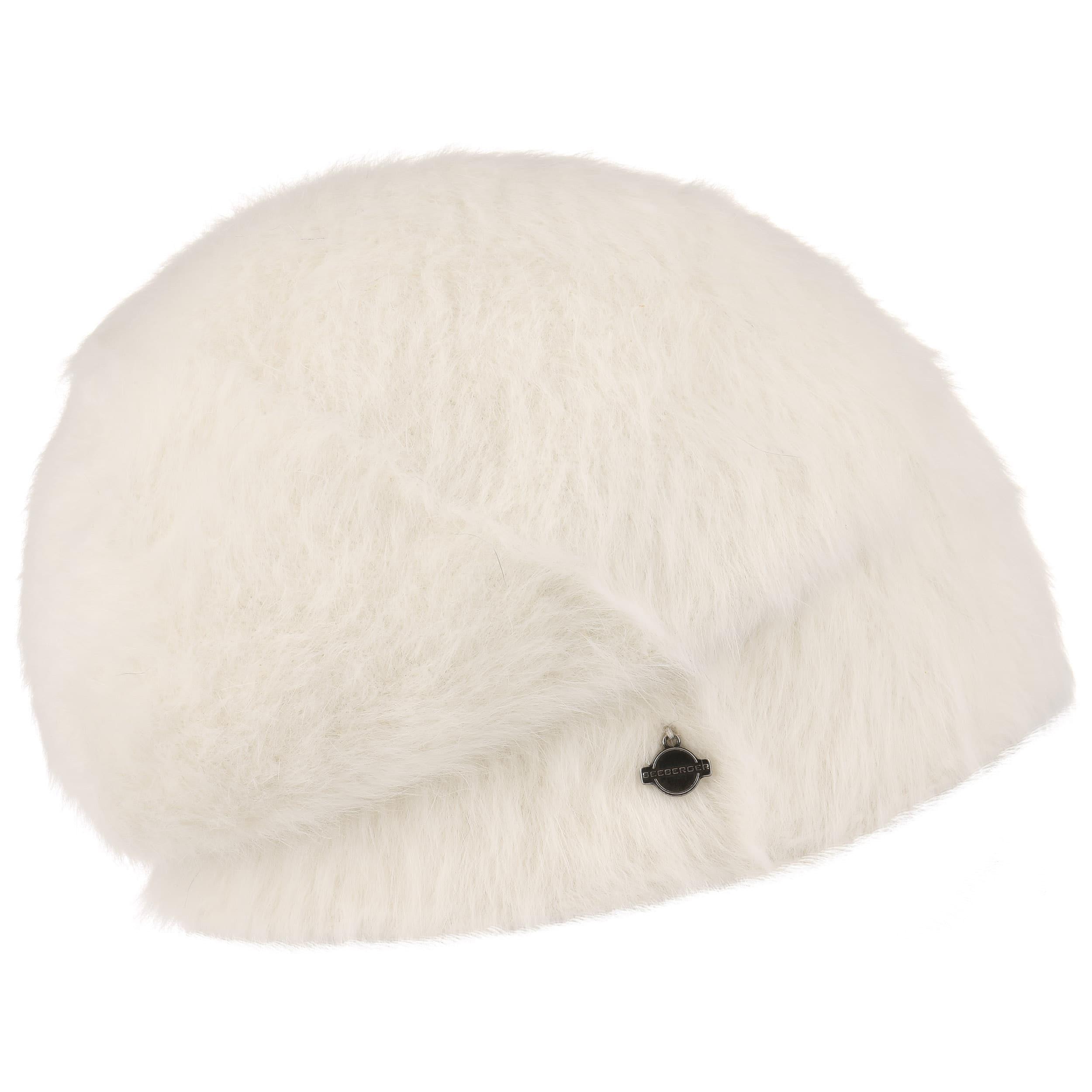 ... Angora Beanie by Seeberger - cream white 3 ... d13c9f68a7d