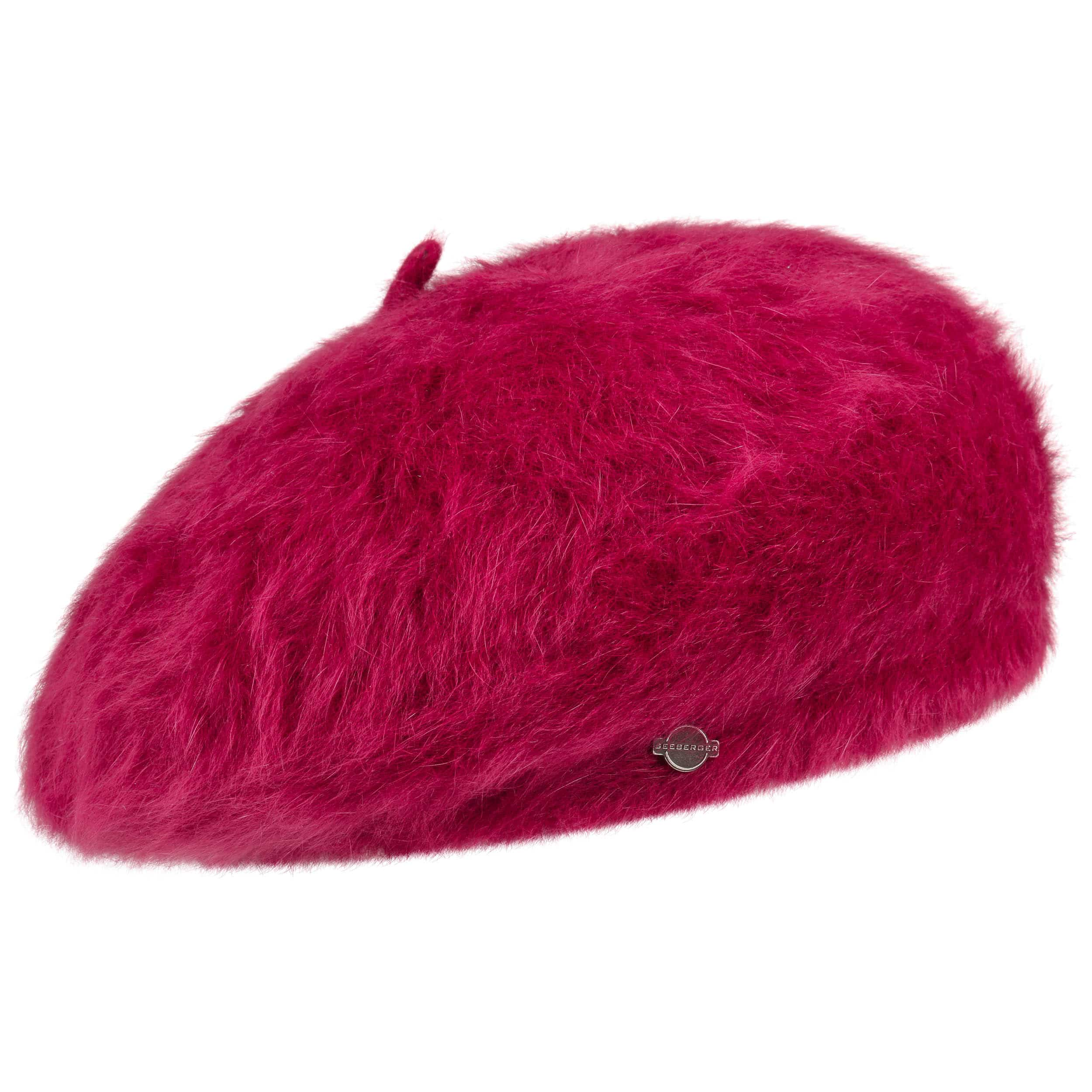 Beret in 100% new milled wool Seeberger red Seeberger rhCCq