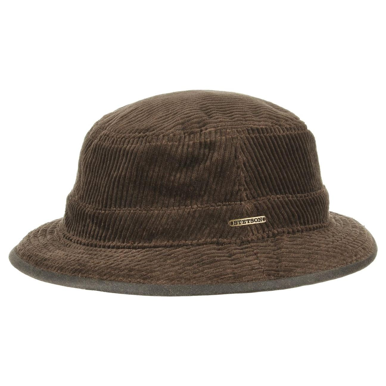 Anselmo Corduroy Bucket Hat by Stetson - brown 1 ... 32af1fd3812
