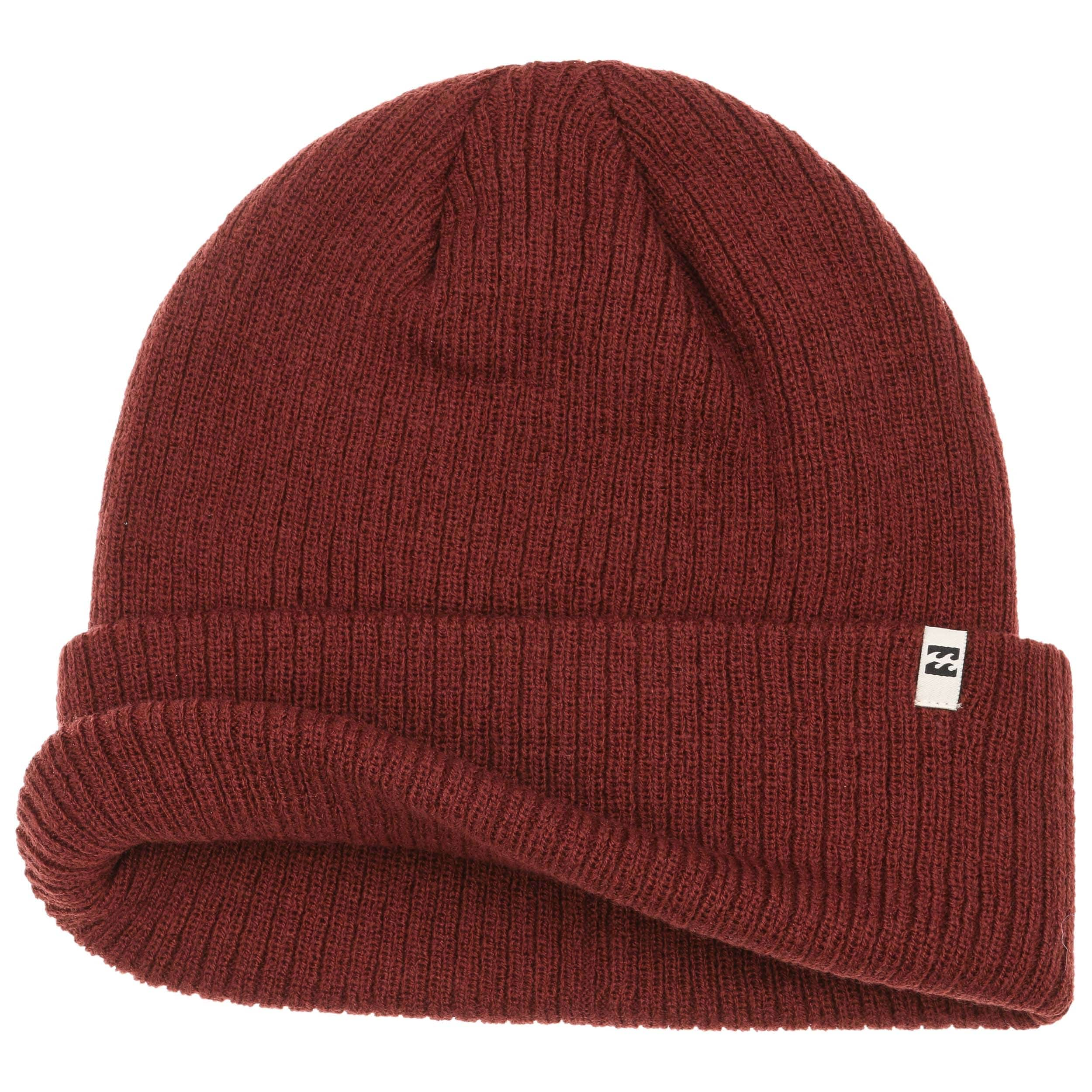 3fa1a646f93 ... Arcade Beanie by Billabong - bordeaux 1 ...