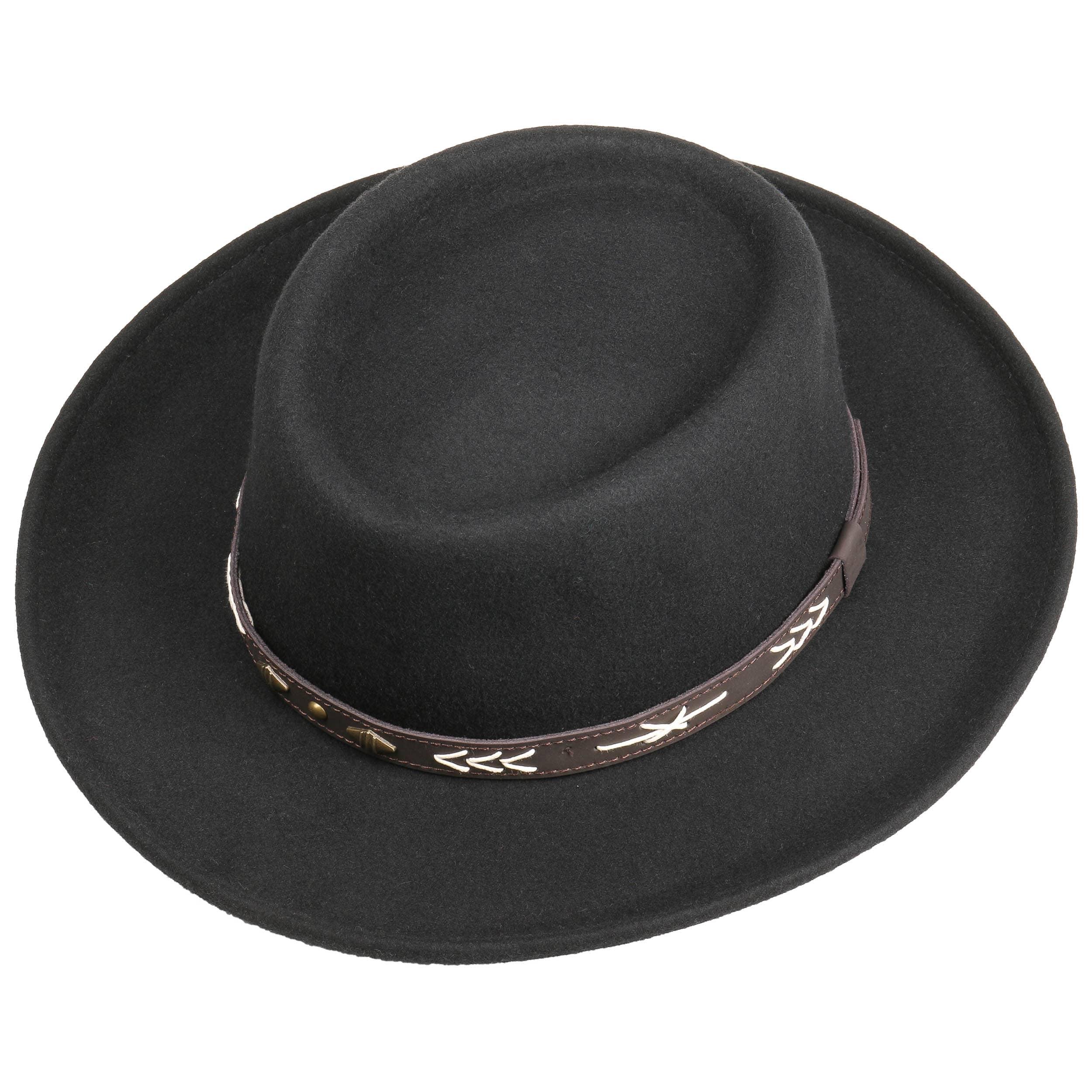 3058edd322e02 Arizo Gambler Wool Felt Hat by Conner